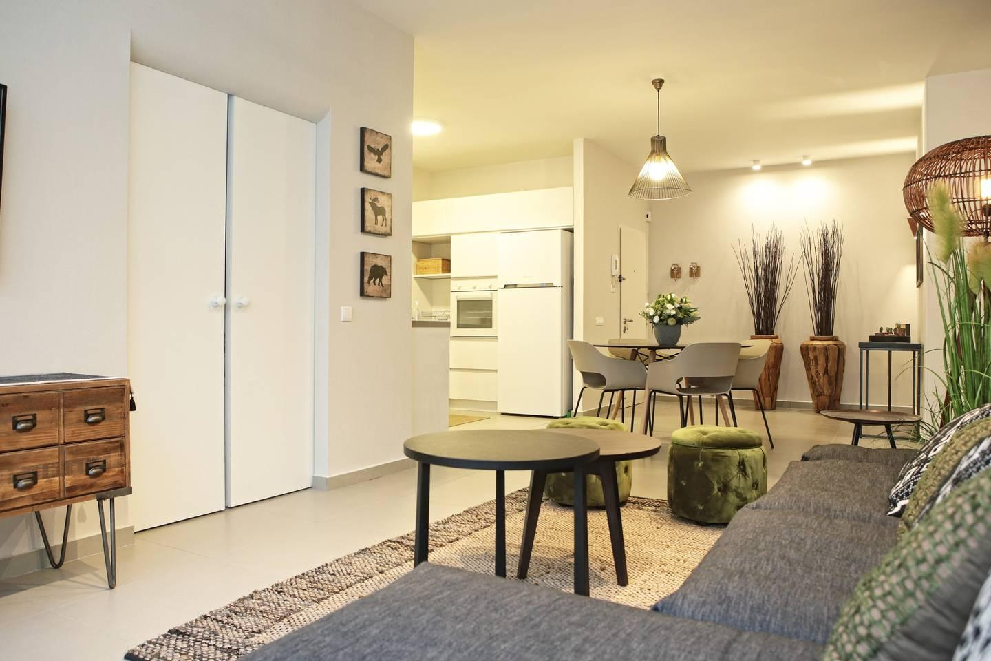 Green Living Flat in the Heart of TLV