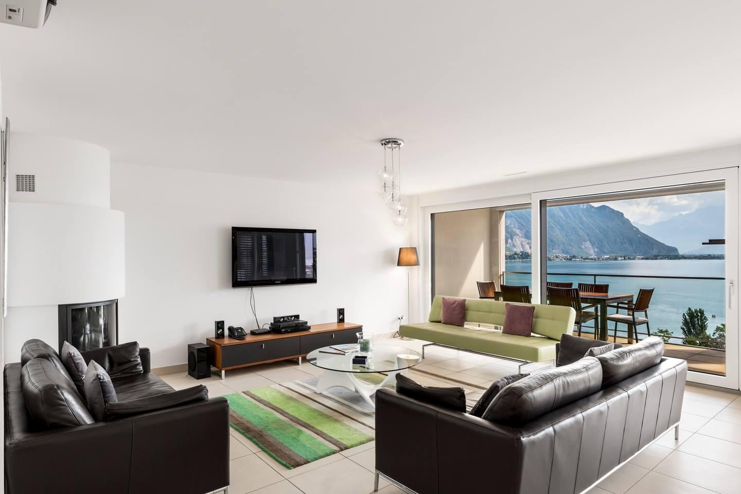 Property Image 1 - Luxury 4BD Apartment in Montreux Center&Lake