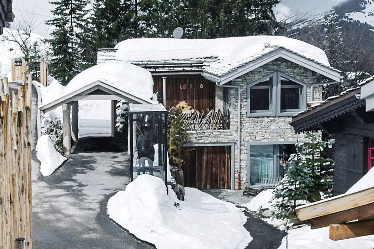 Property Image 1 - RICH SILVER CHALET WITH ELEGANT TOUCH