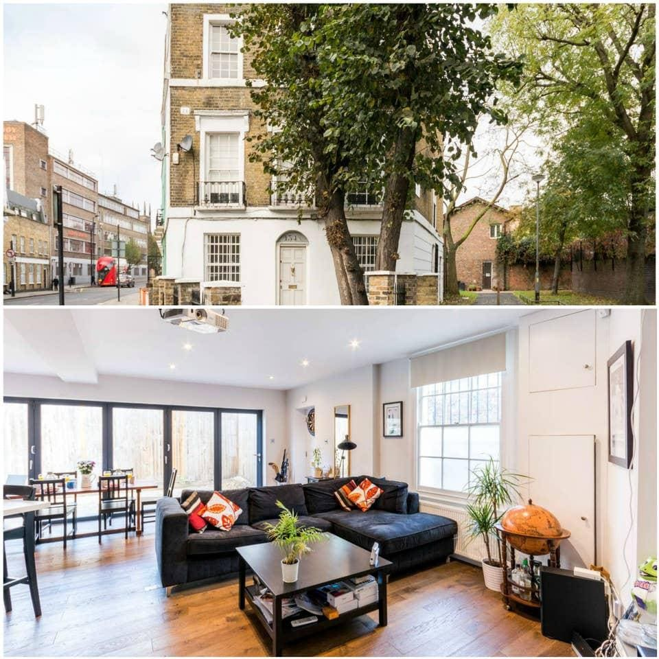 Two Bedroom Apartments London: Beautiful 2 Bedroom Apartment With Terrace In Islington