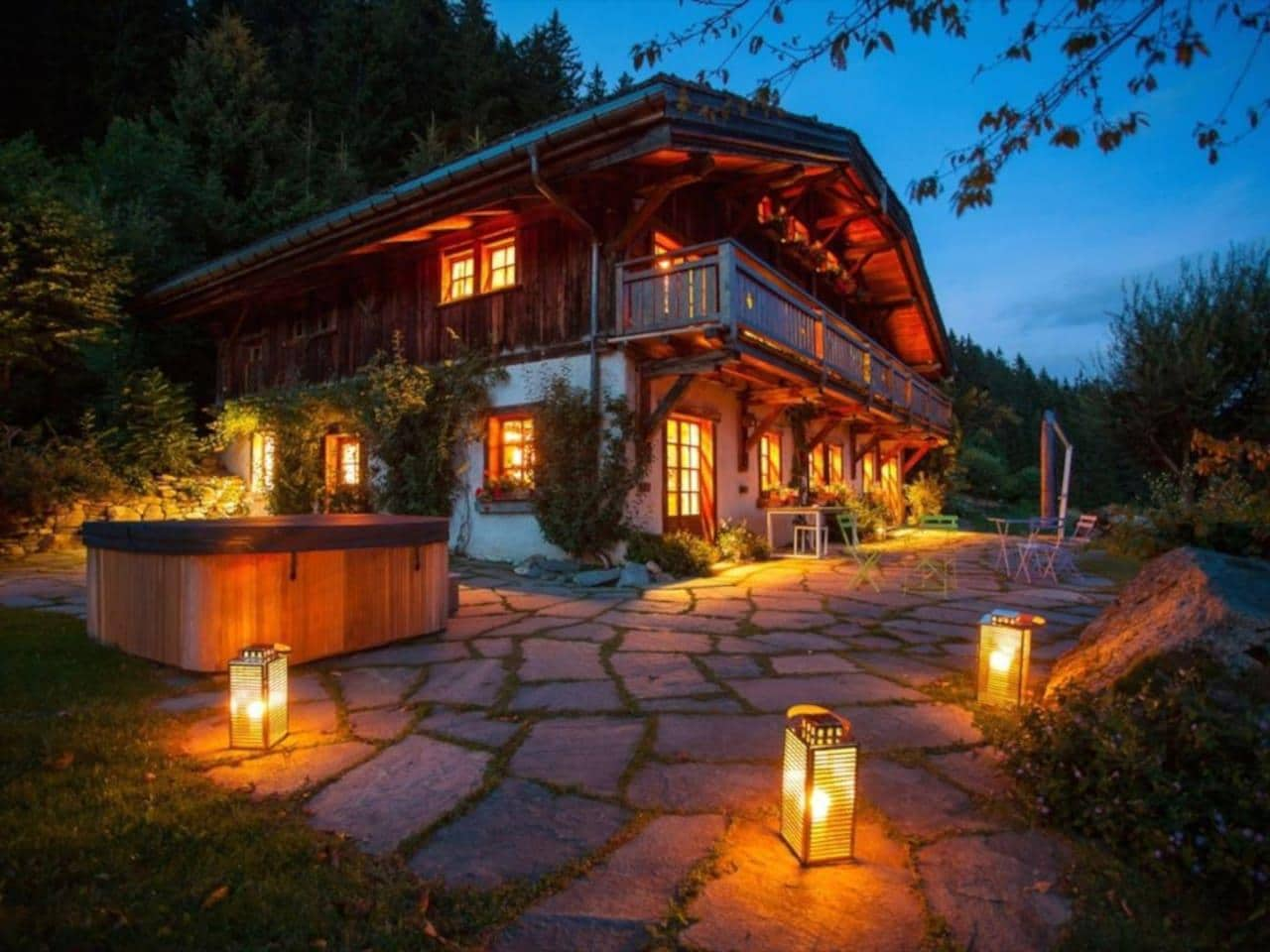 Sensational Chalet with Spa & Mont Blanc Views