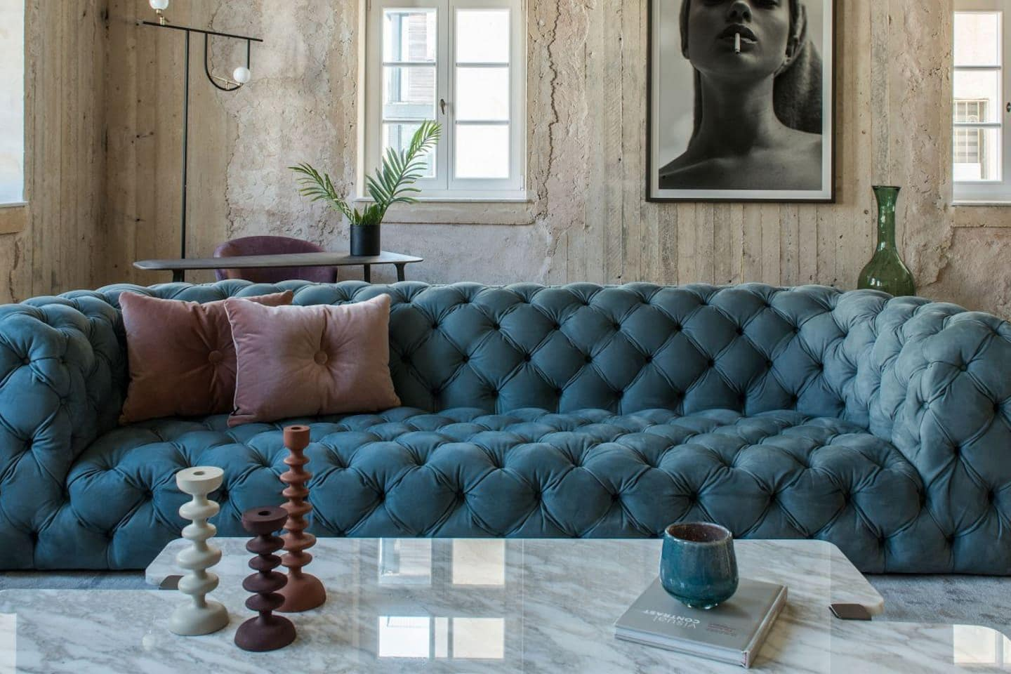 Basic Luxury Flat Inspired by Art Deco Style Interiors