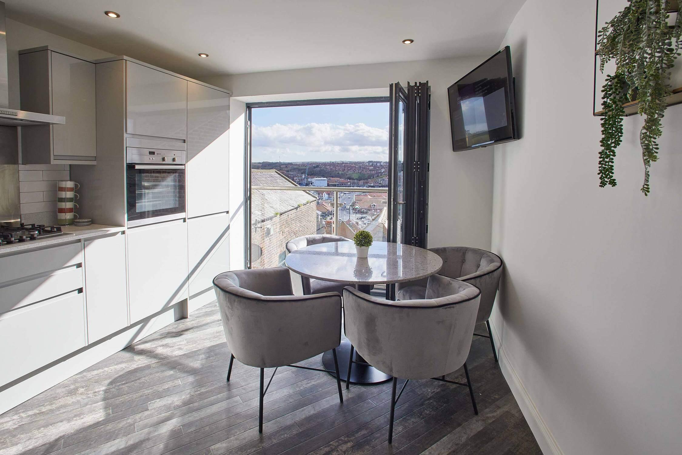 Property Image 1 - Beautiful Two Bedroom Apartment in Whitby with Harbour Views