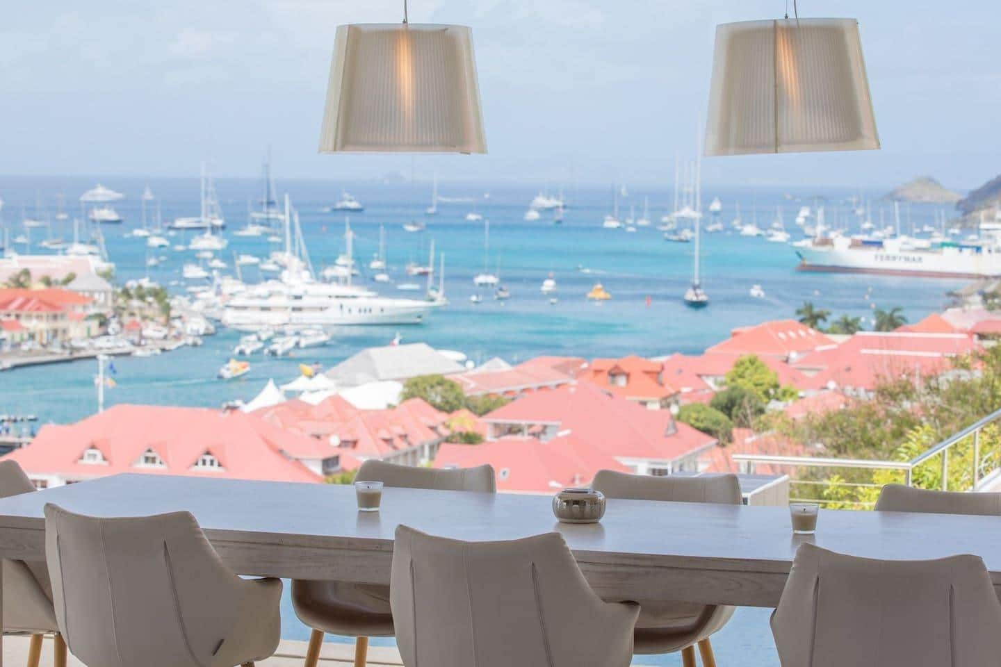 Gustavia's Finest Villa with Best View of the Port
