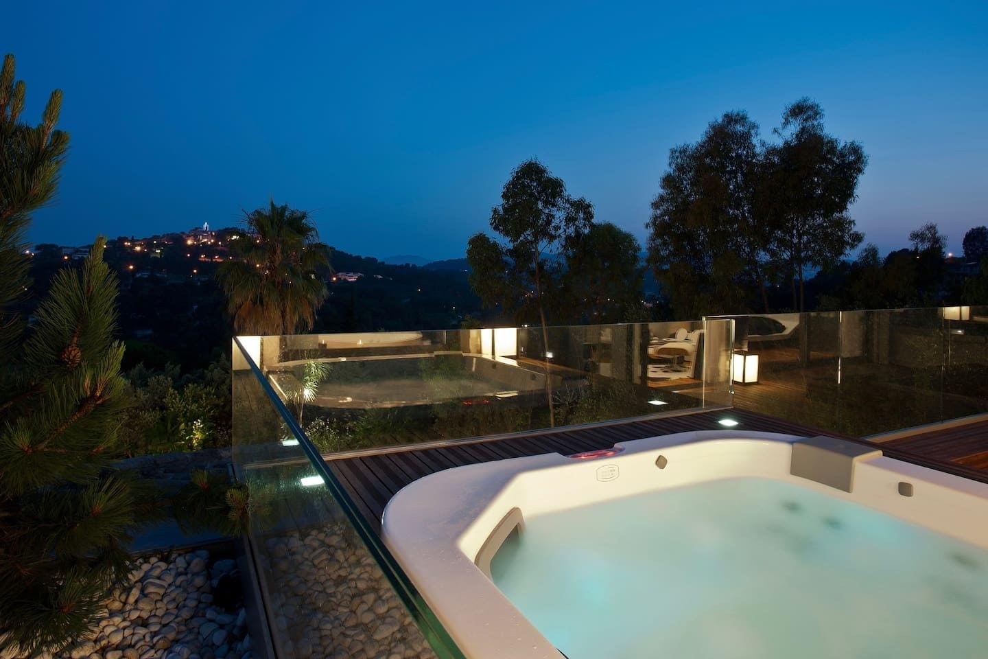 Hill of Mougins Villa with Massage Room and Sauna