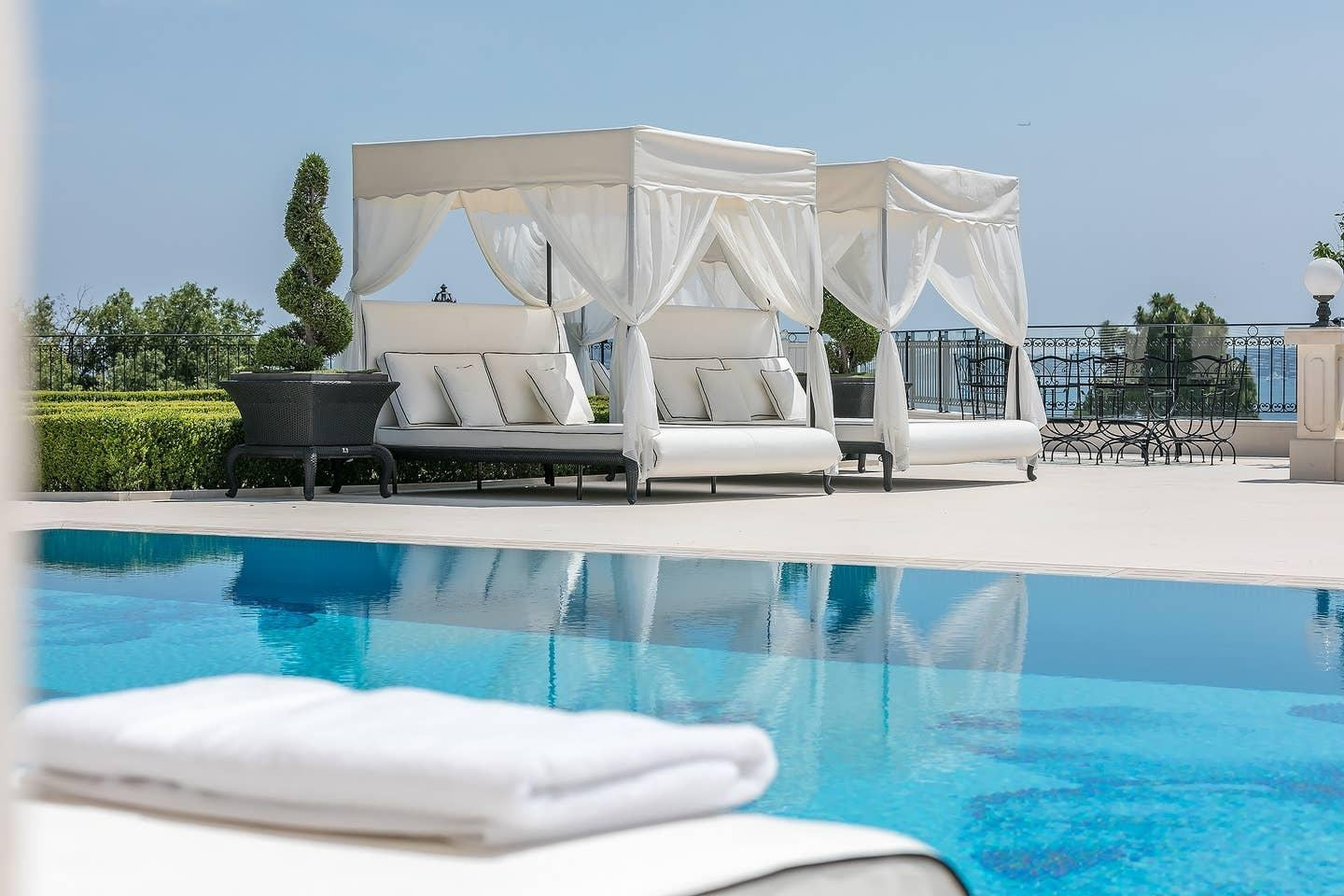 Cannes Jewel Villa with Outdoor Lounges and Pool