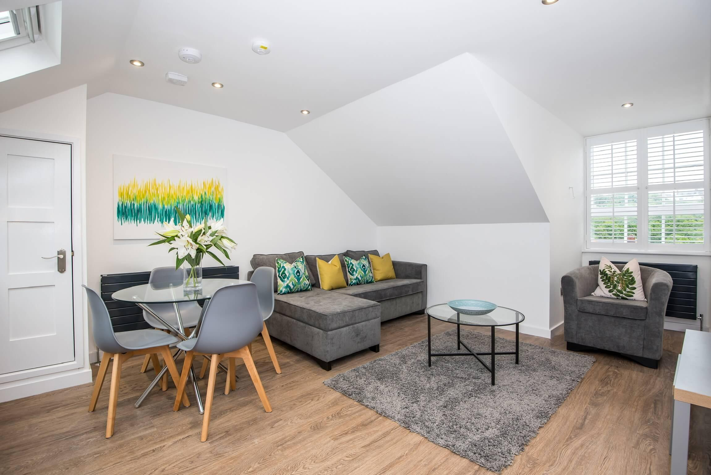 Property Image 1 - Cool Penthouse Apartment in Durham City Centre with Free On-site Parking