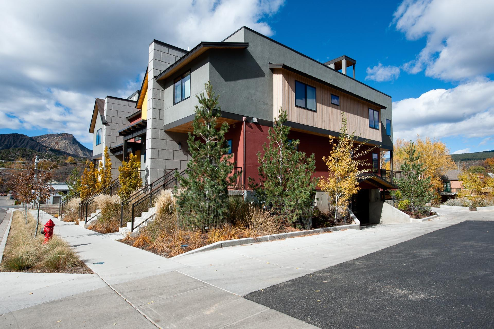 Brand New Construction -  Luxury Riverfront Townhome in Historic Downtown Durango - Roof Top Deck