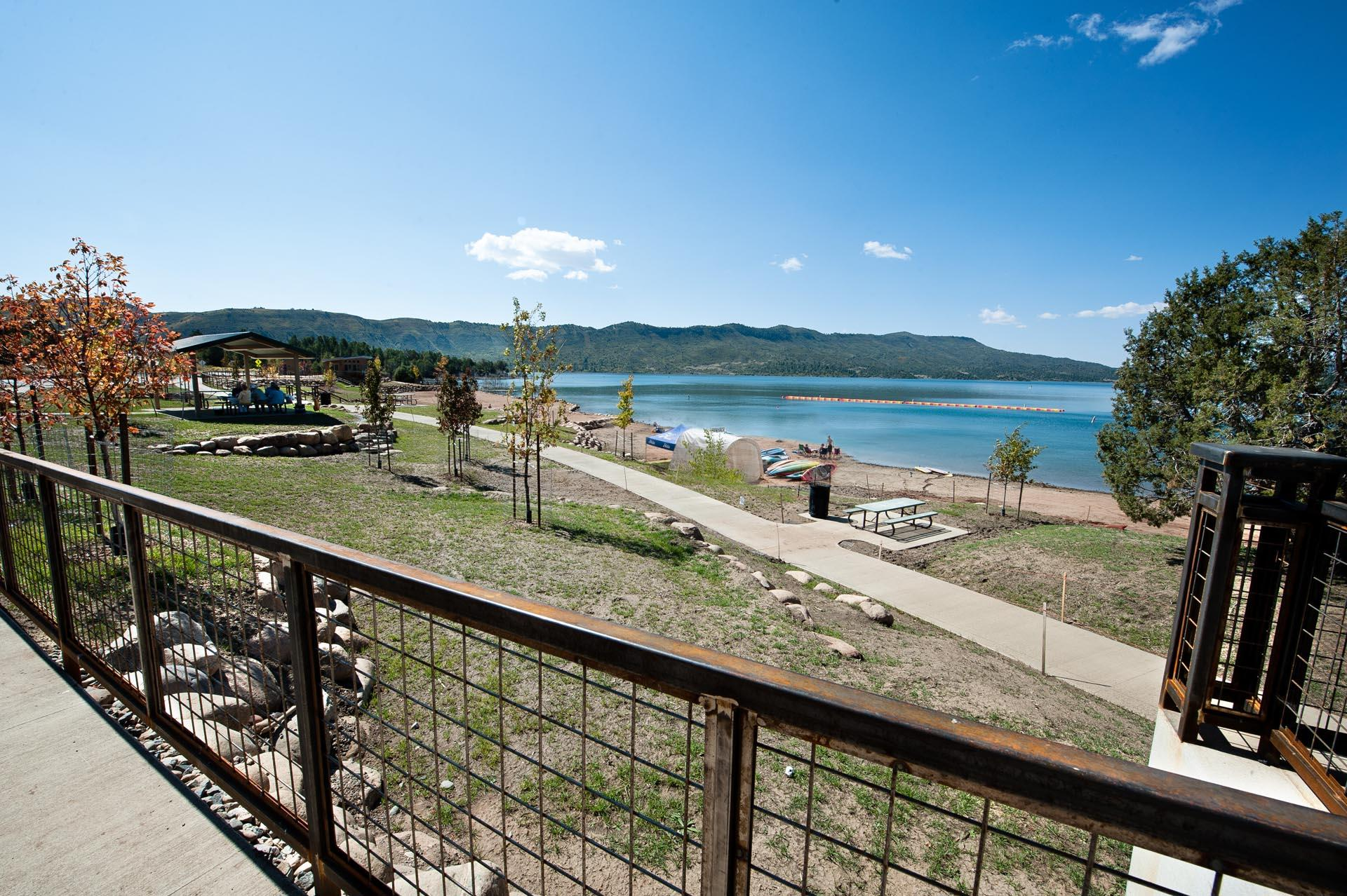 The home is less the a 10 minute drive from the newly opened Lake Nighthorse.
