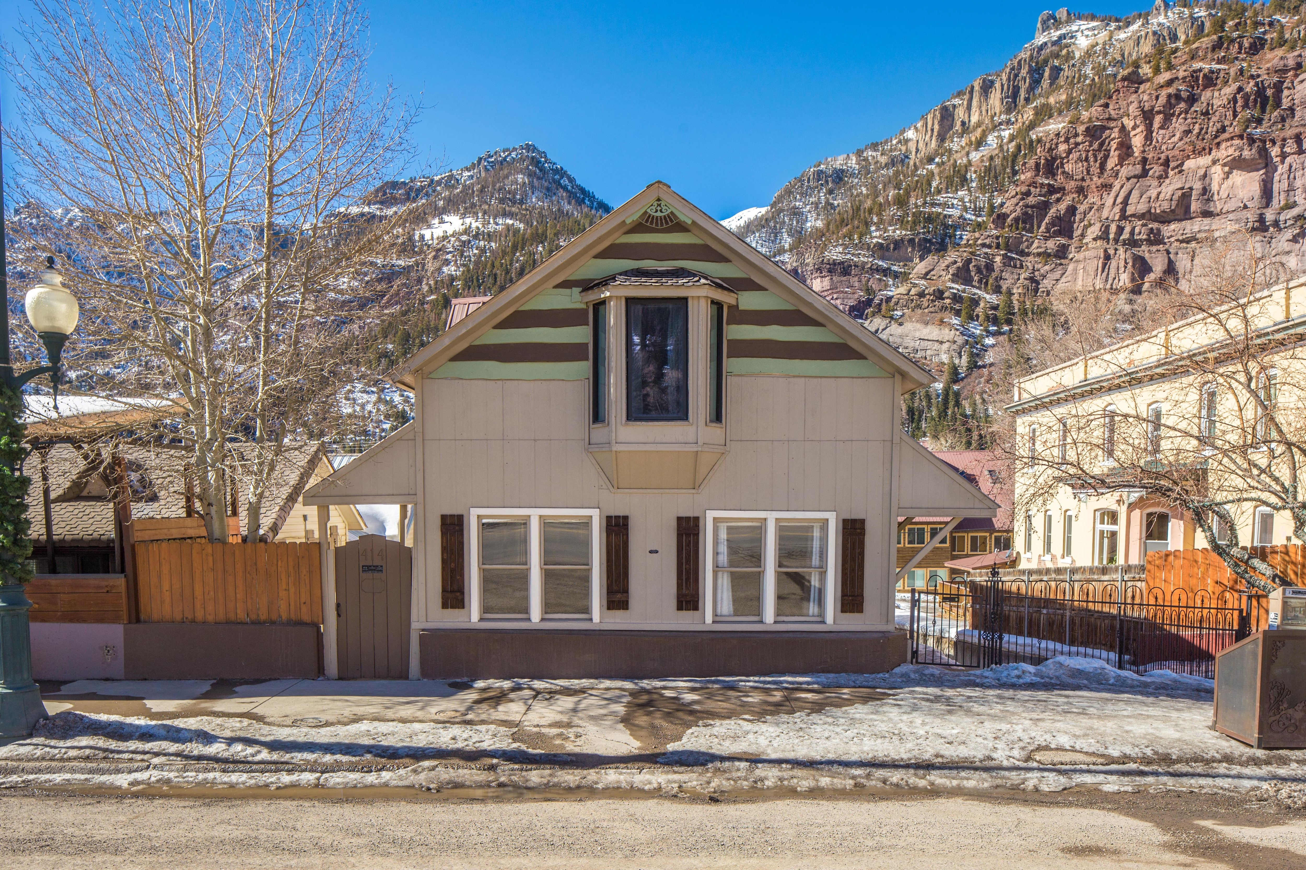 Luxurious Historic Home in the Heart of Downtown Ouray