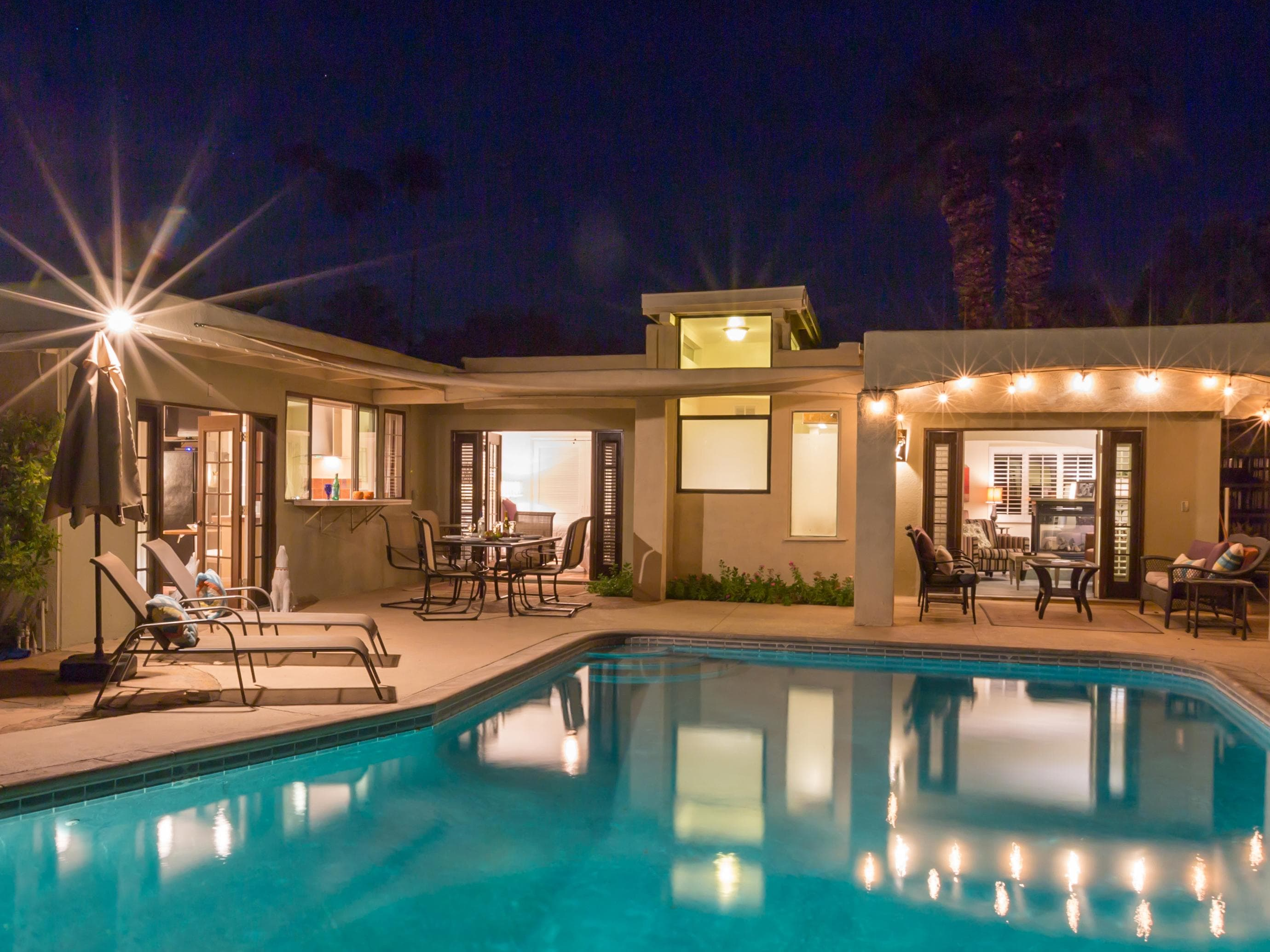 Property Image 1 - Celebrity Pedigree Home in Palm Springs with Pool/Spa