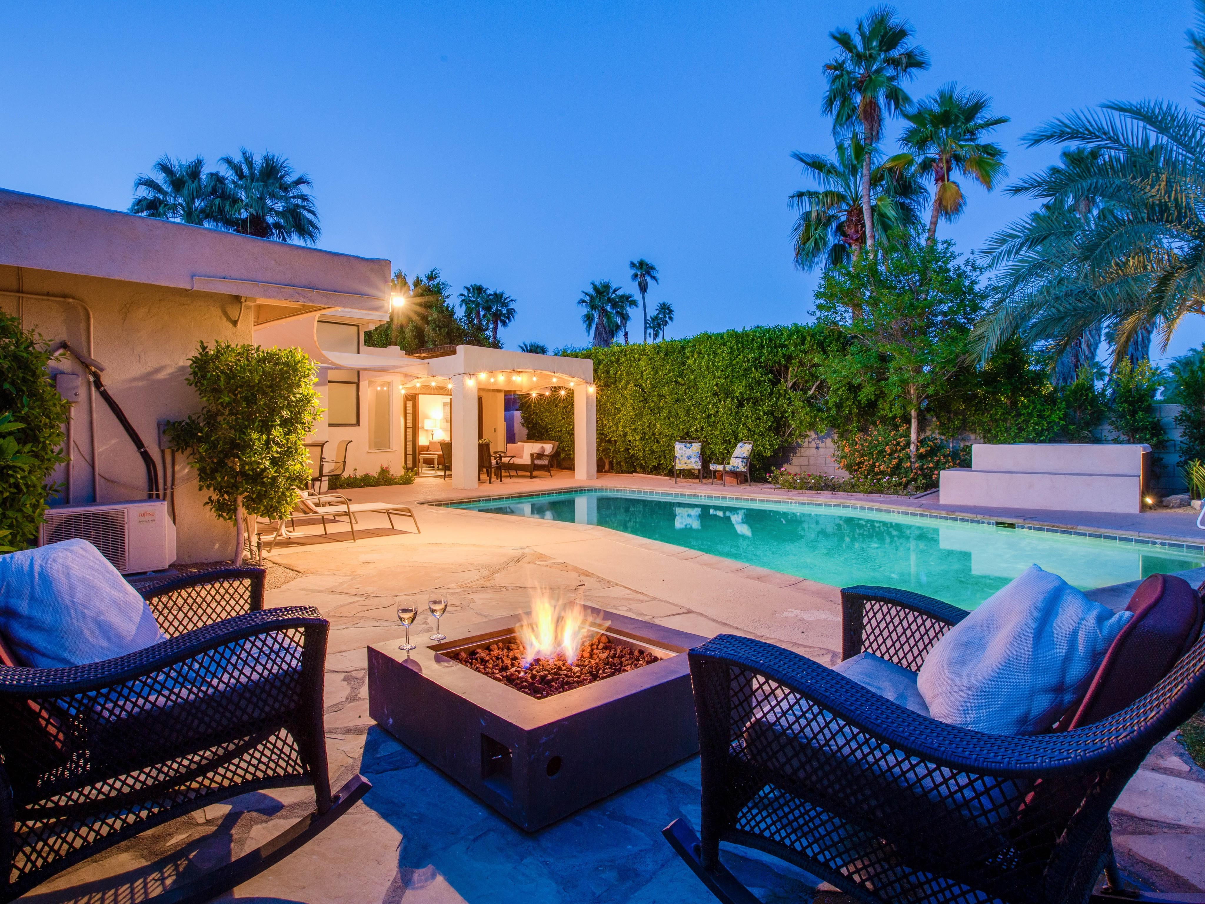 Property Image 2 - Celebrity Pedigree Home in Palm Springs with Pool/Spa