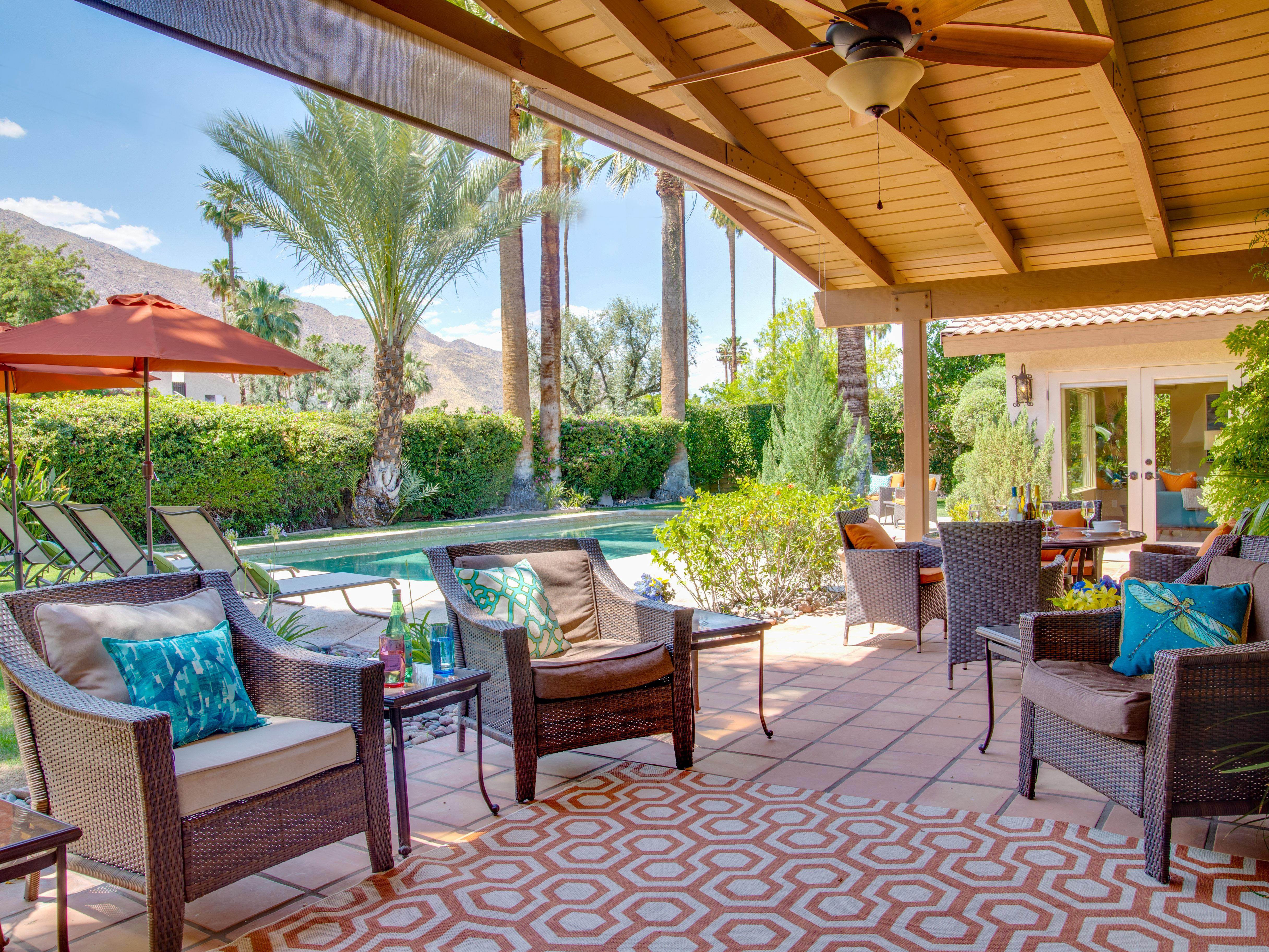 Property Image 2 - Open, Bright Pool Home in Deepwell near Palm Canyon Dr