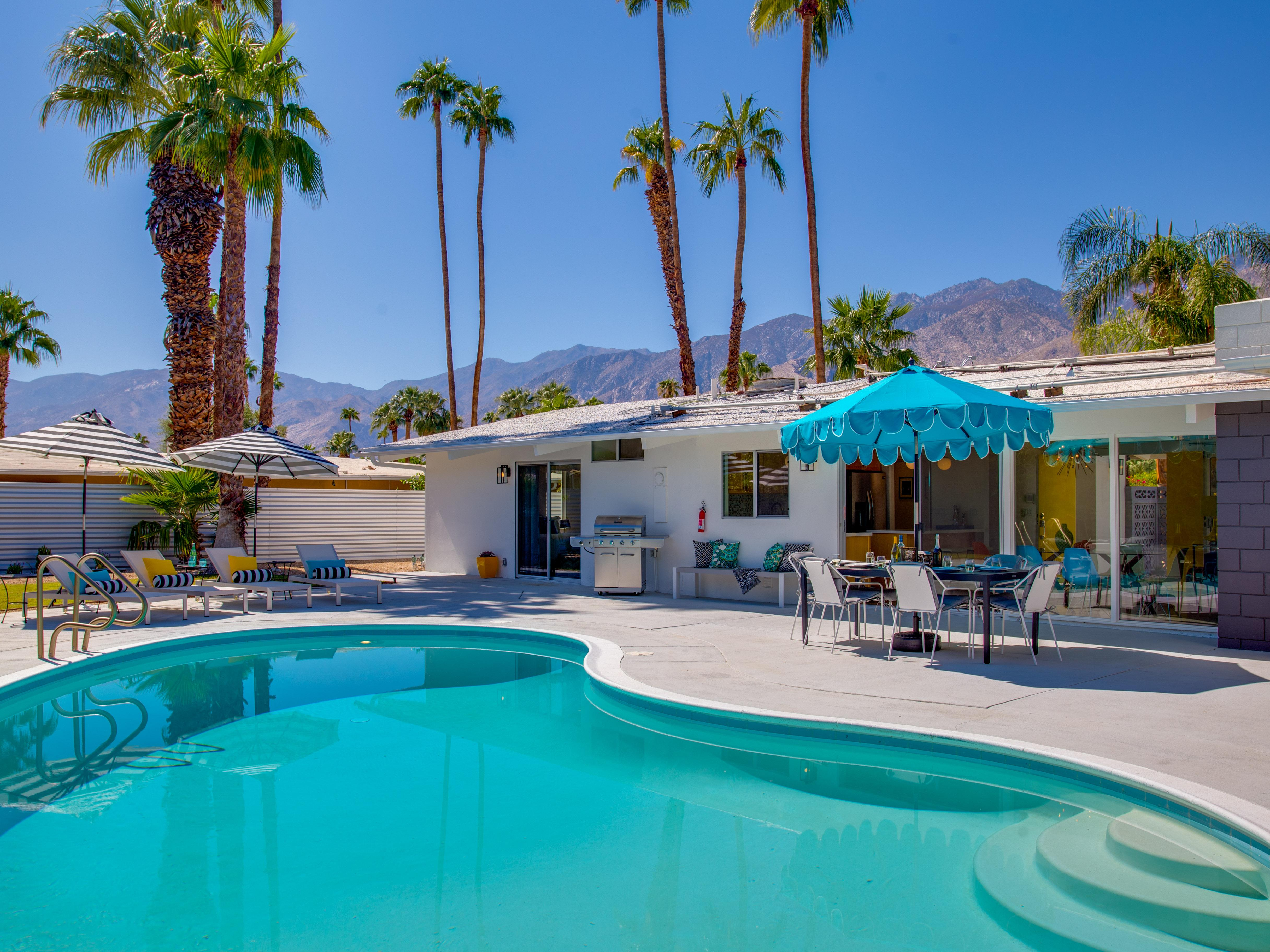 The Jagger House - A Palm Springs Pool Home