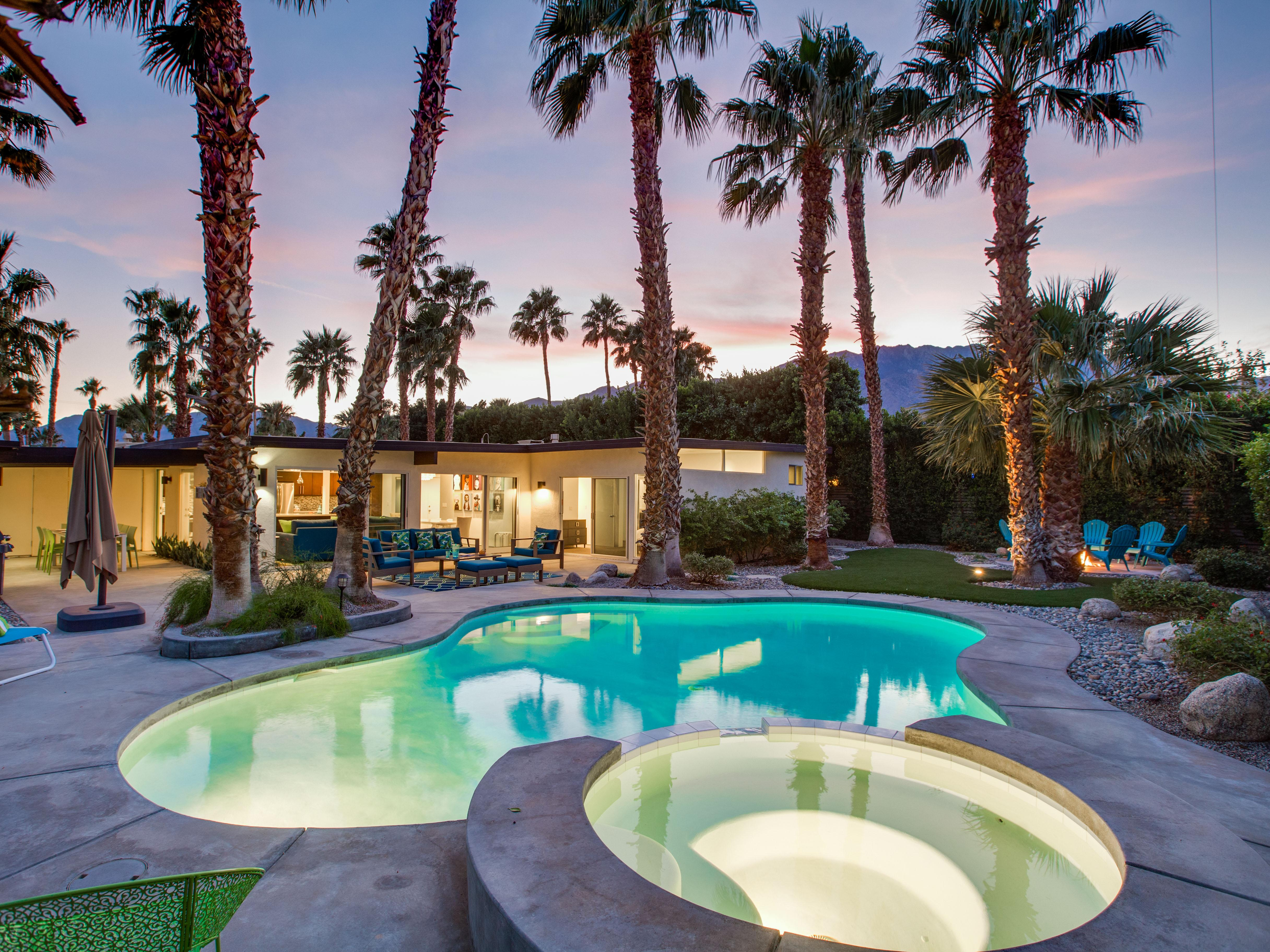 Property Image 1 - Updated, whimsical home Palm Springs with Resort Yard