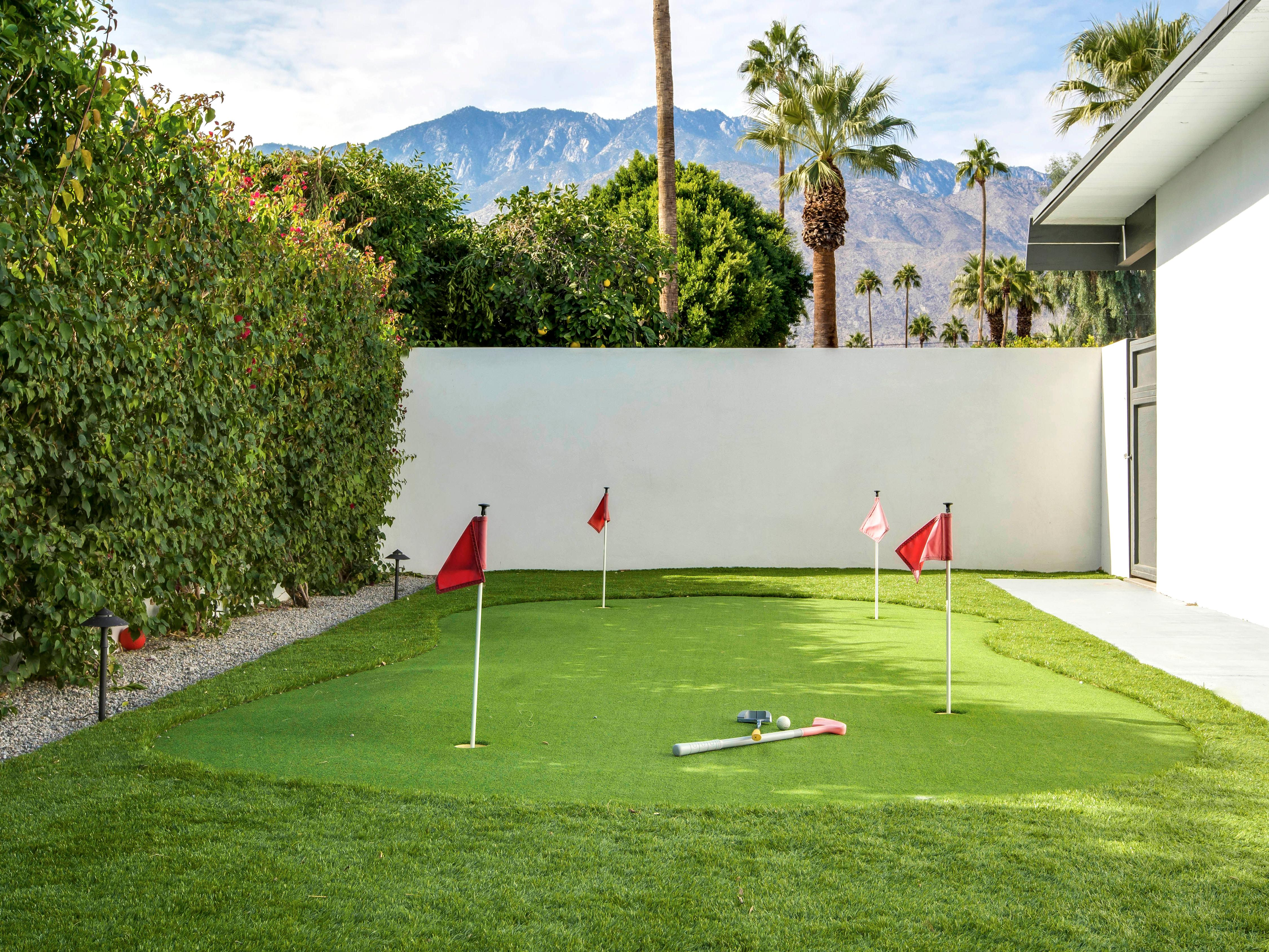 Property Image 2 - Expanded Midcentury Home with Putt Green, Palm Springs