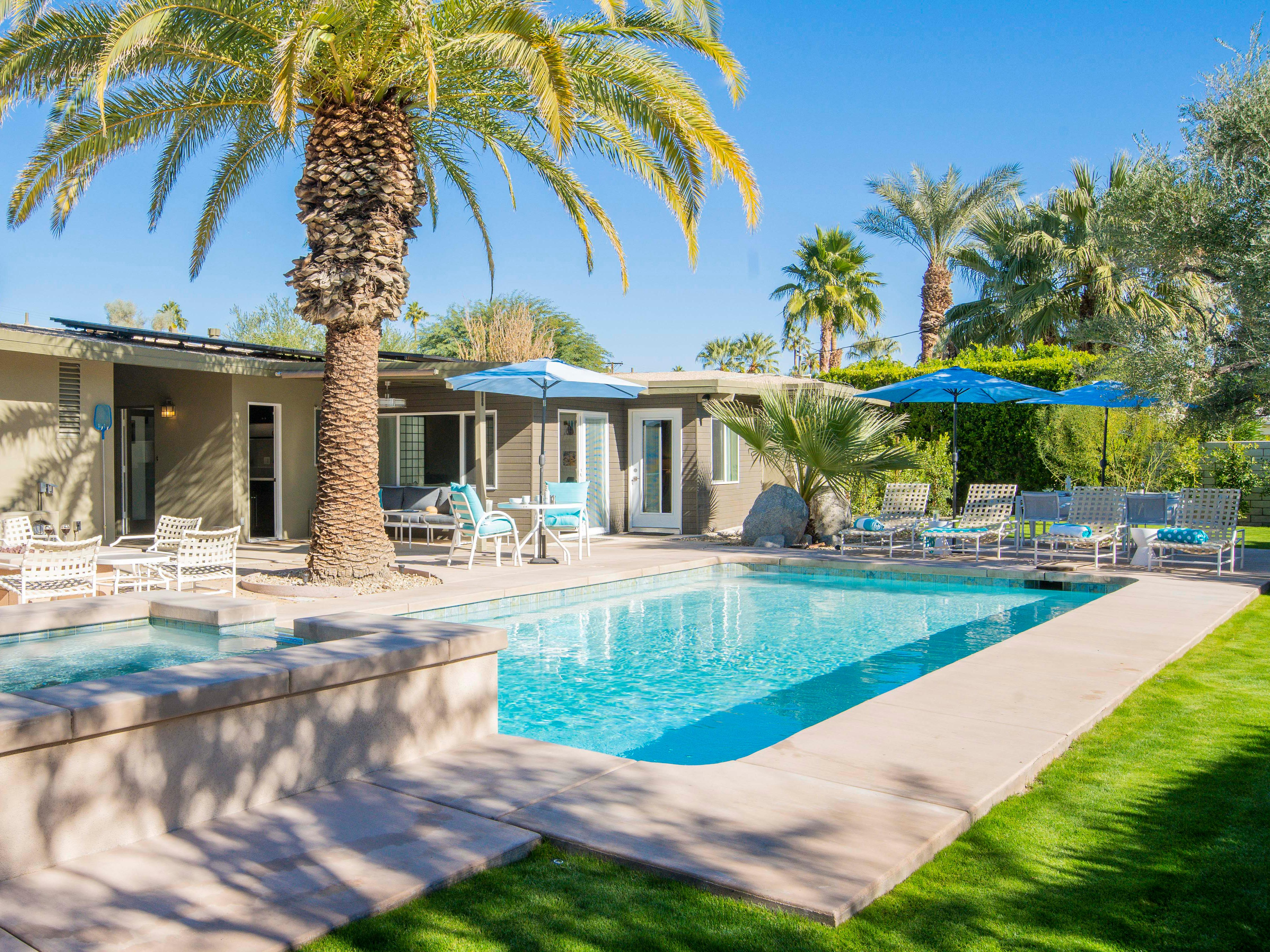 Property Image 1 - Inviting Retro Home in Palm Springs near Palm Canyon Dr.