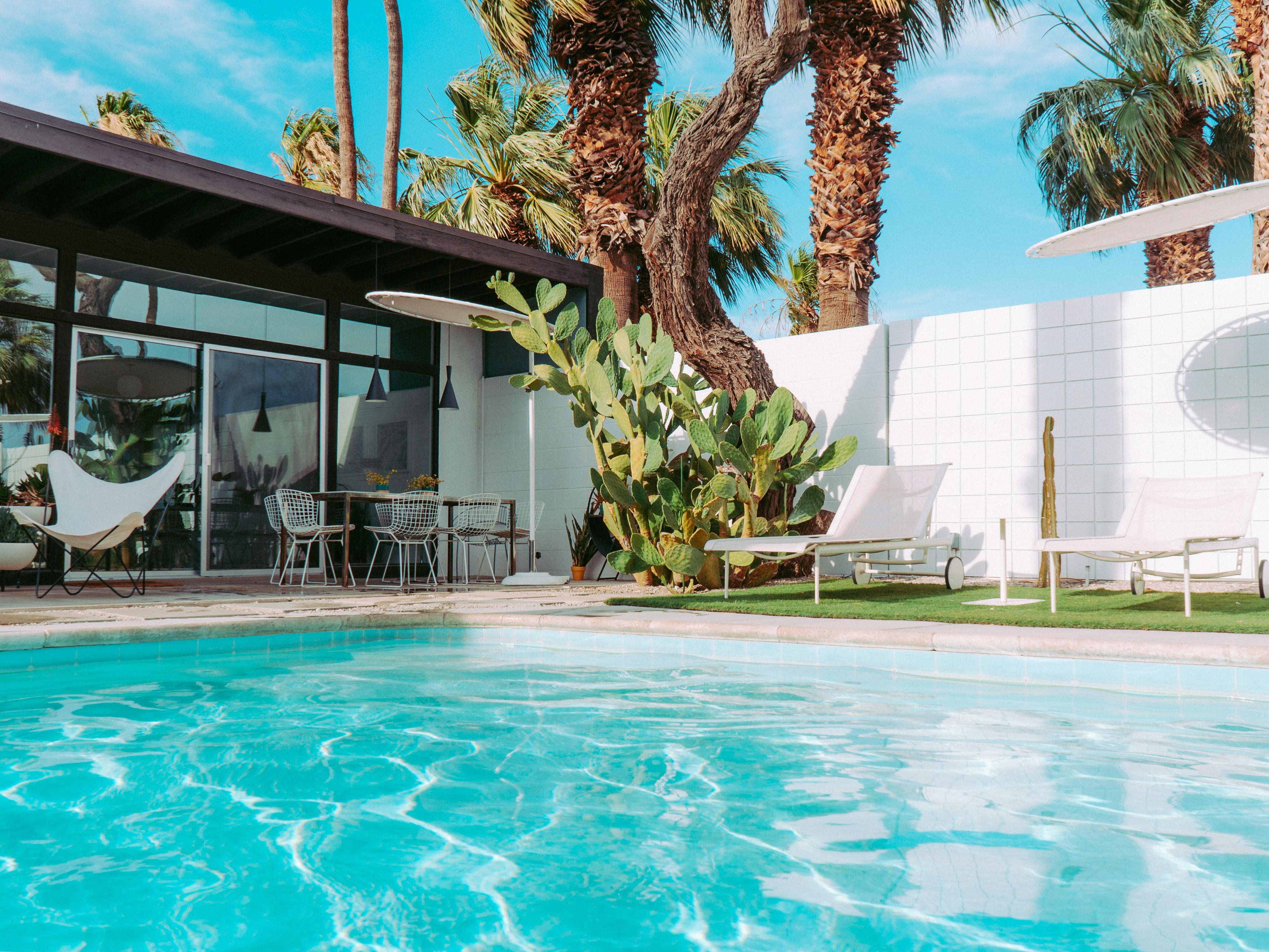 Swanky Upgraded Home in Palm Springs with Fabulous VIew