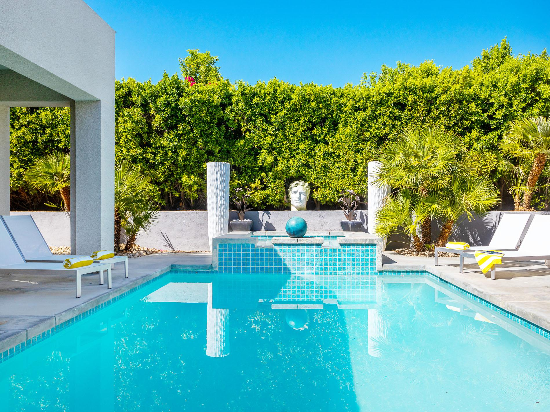 Property Image 1 - Stylish, Modern Villa with Bocce Ball, Statuesque Pool & Hot Tub