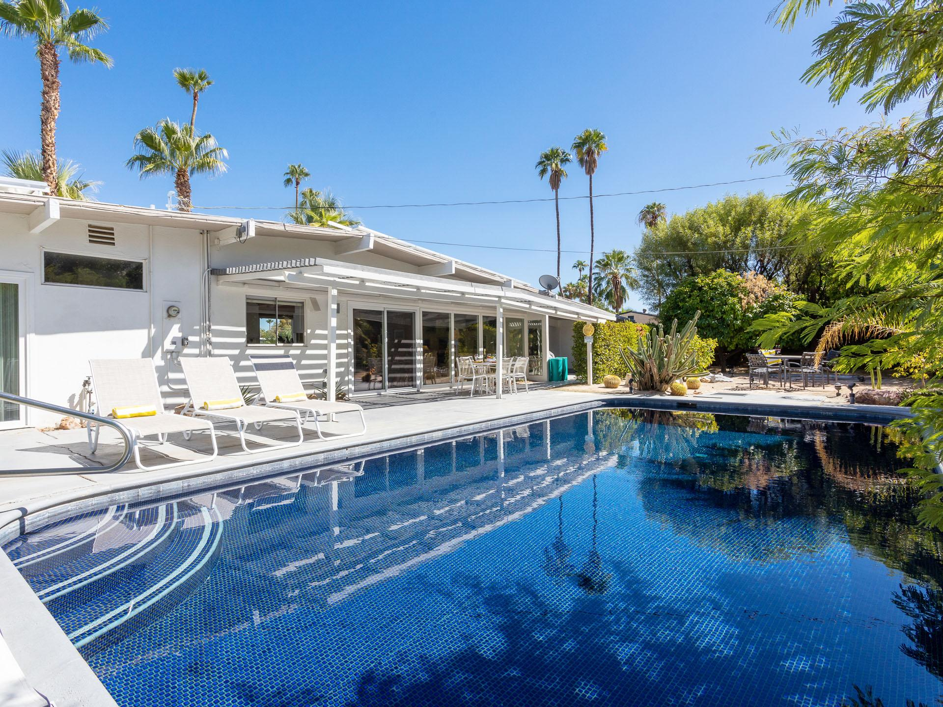 Property Image 1 - Vacation Escape Home with Mosaic Pool in Palm Springs