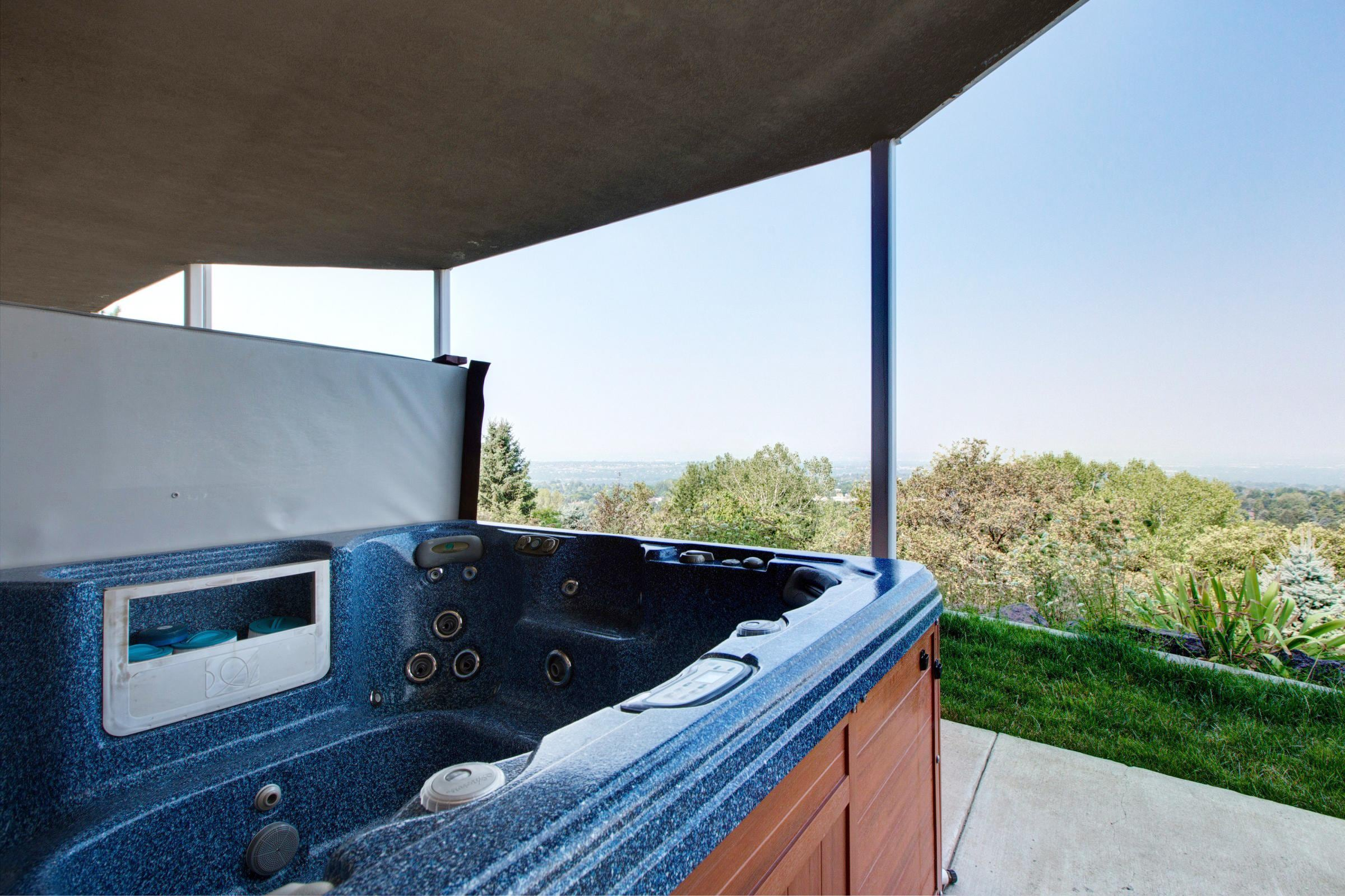 Your own private hot tub with a view!