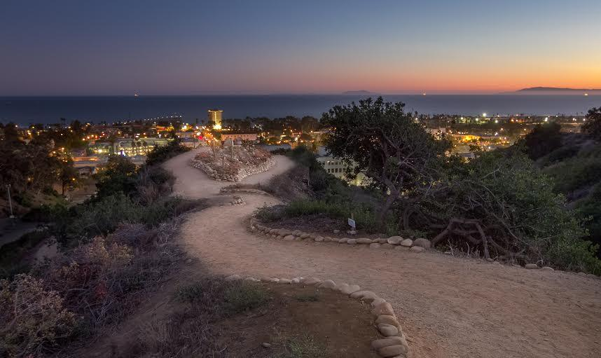 Take in the fantastic view from the Ventura Botanical Garden.