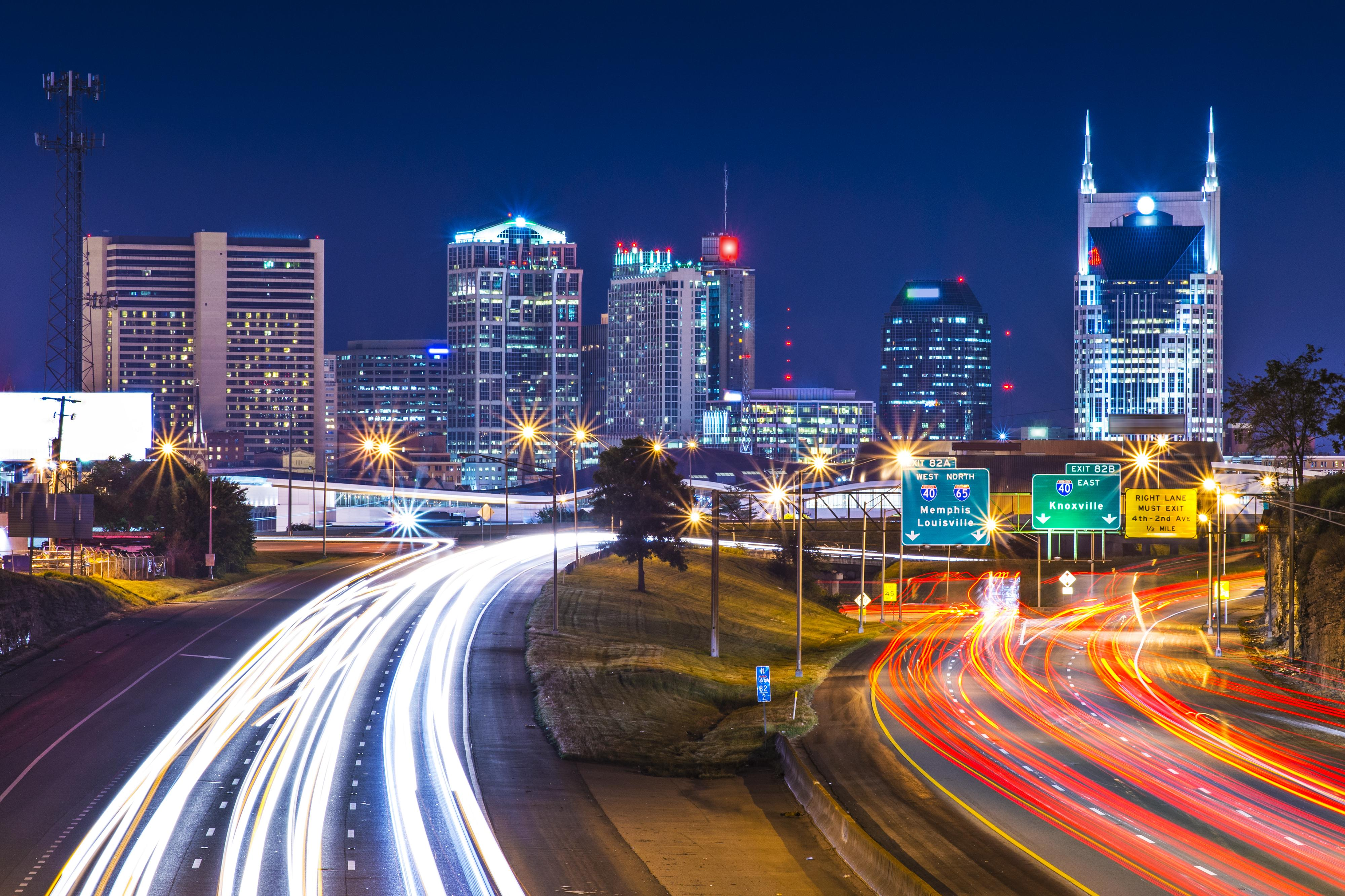 The excitement and attractions of downtown Nashville is a short drive away!