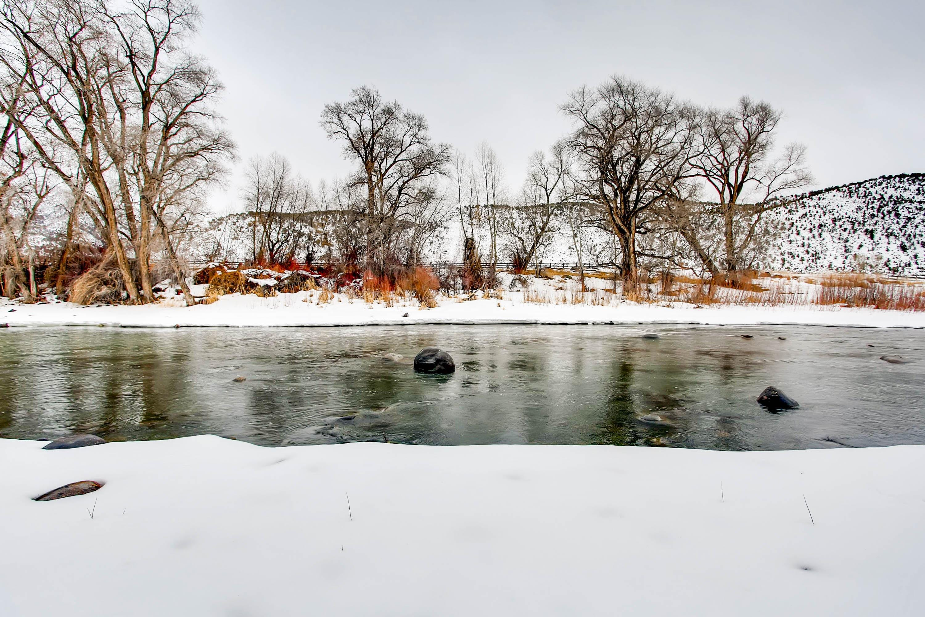 How about a little winter fishing?