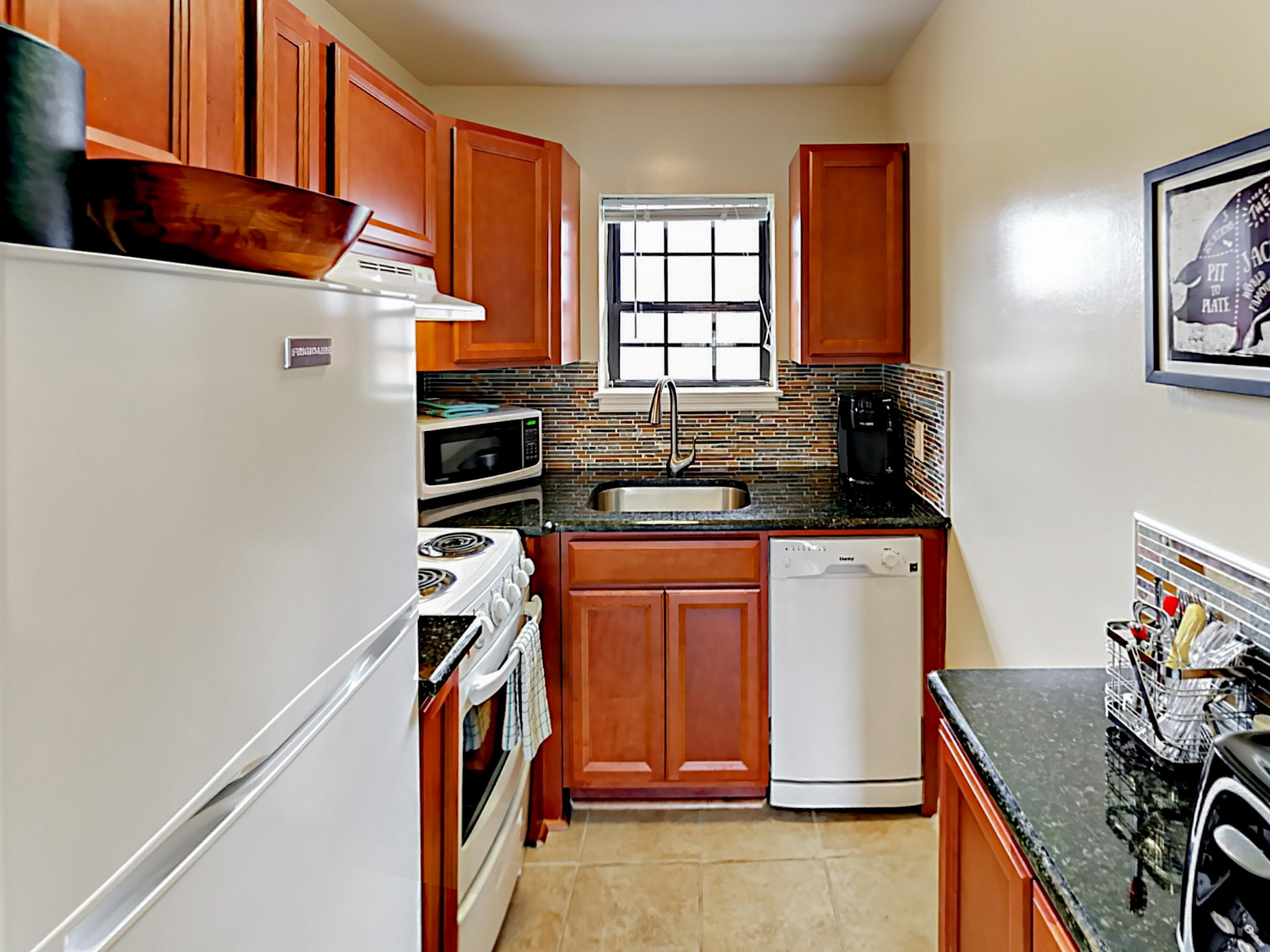 Charming Condo with Refinished Kitchen