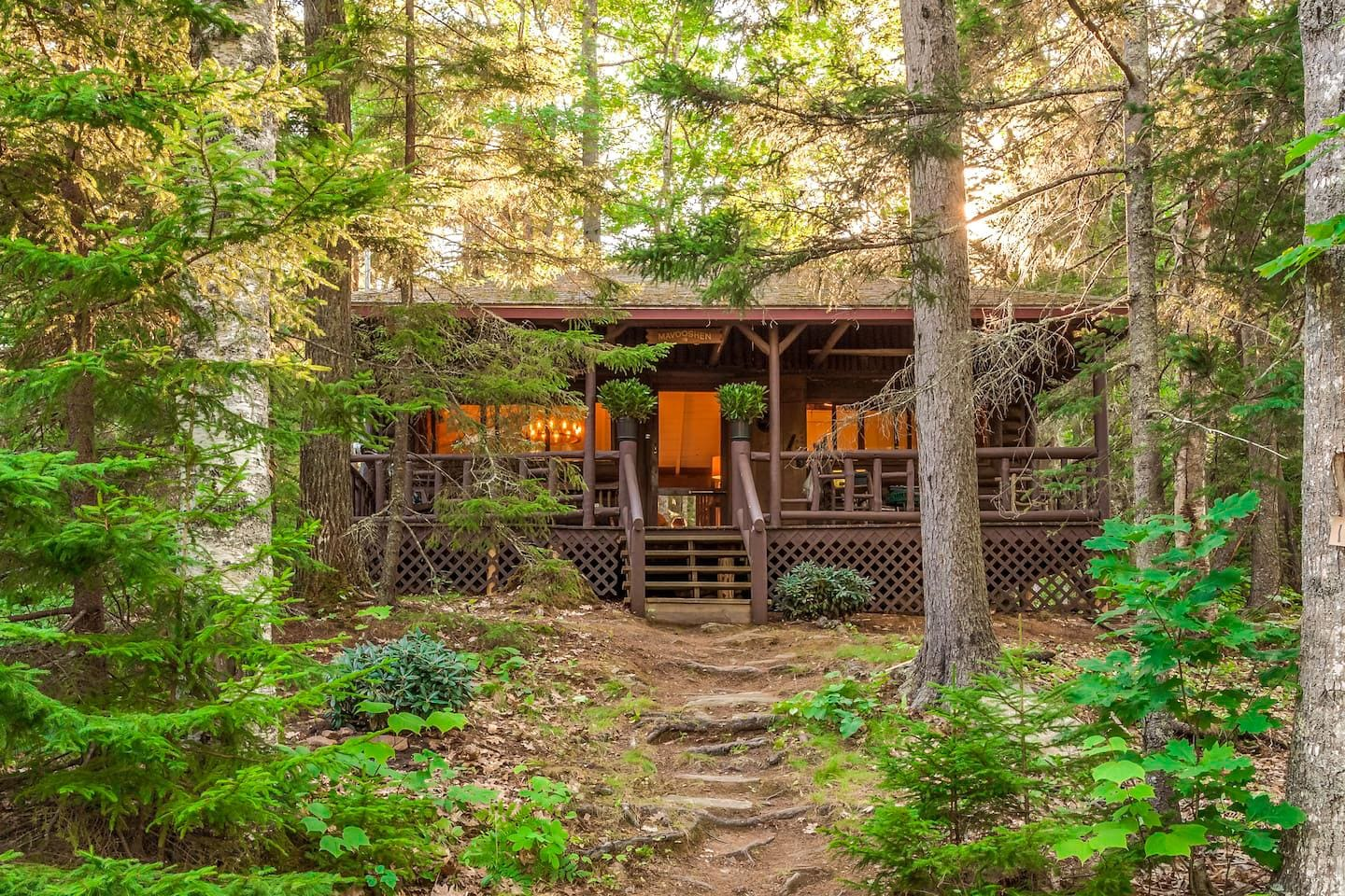 Welcome to Boothbay Harbor! This cabin is professionally managed by TurnKey Vacation Rentals.
