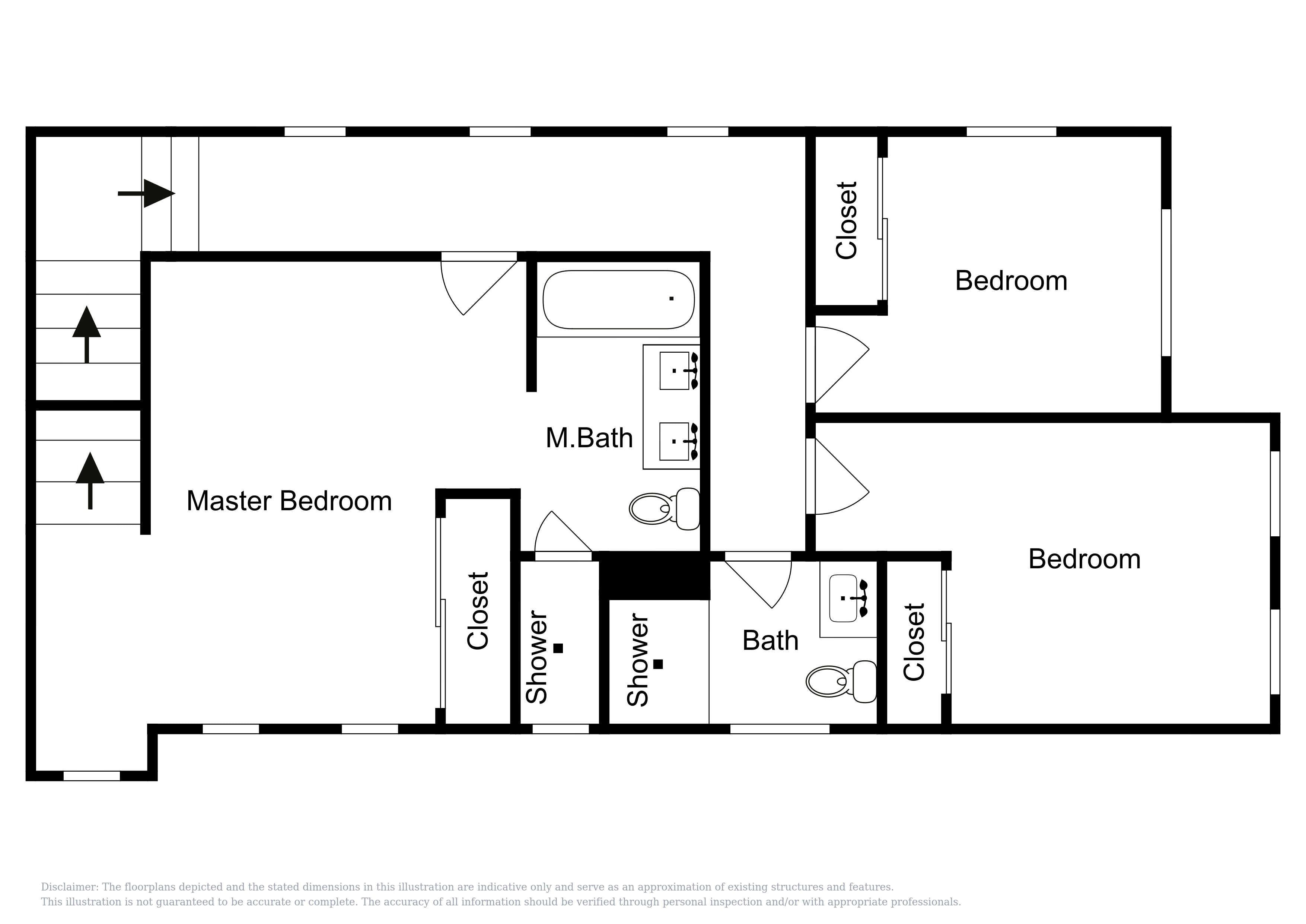Second Floor - This floor plan is an approximation and may not include the most recent information.