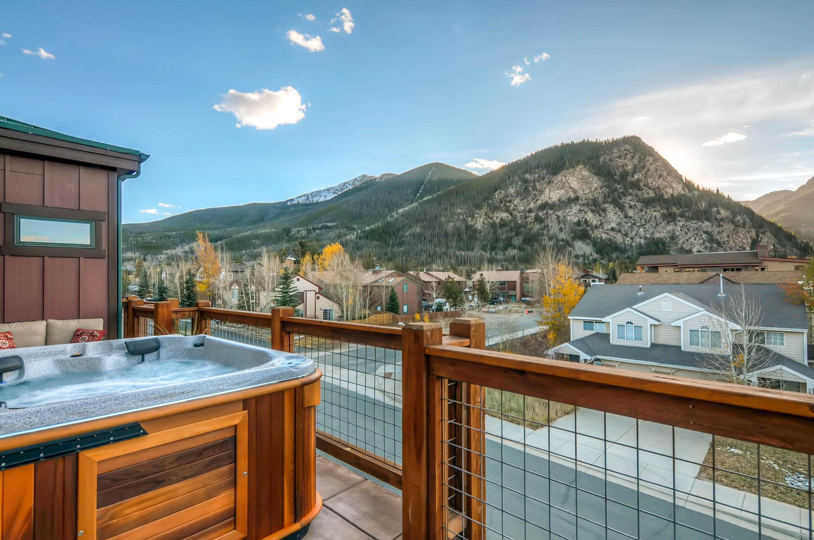 Welcome to Breckenridge! Your rental is professionally managed by TurnKey Vacation Rentals.
