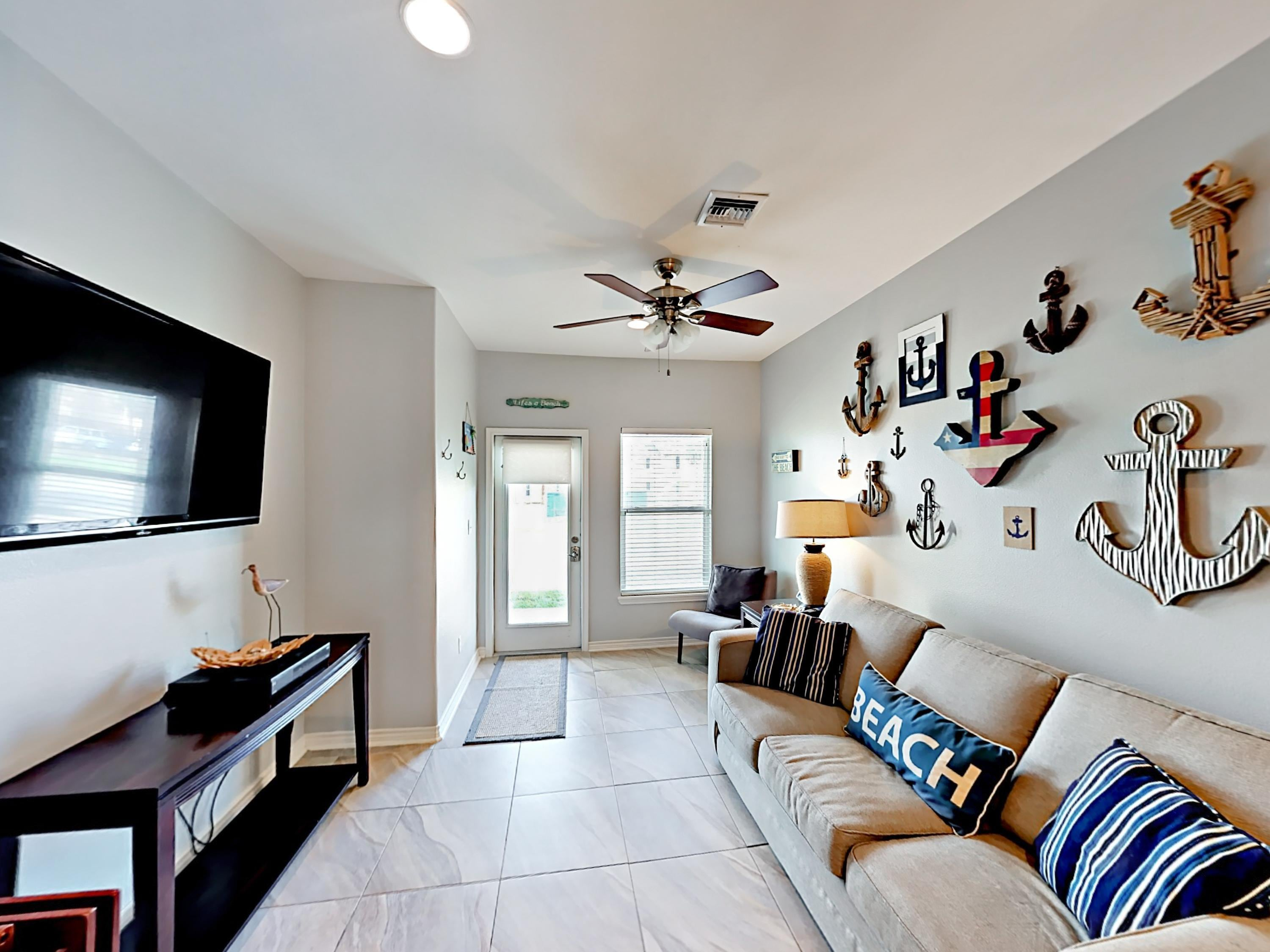 Welcome to Port Aransas! This townhouse is professionally managed by TurnKey Vacation Rentals.