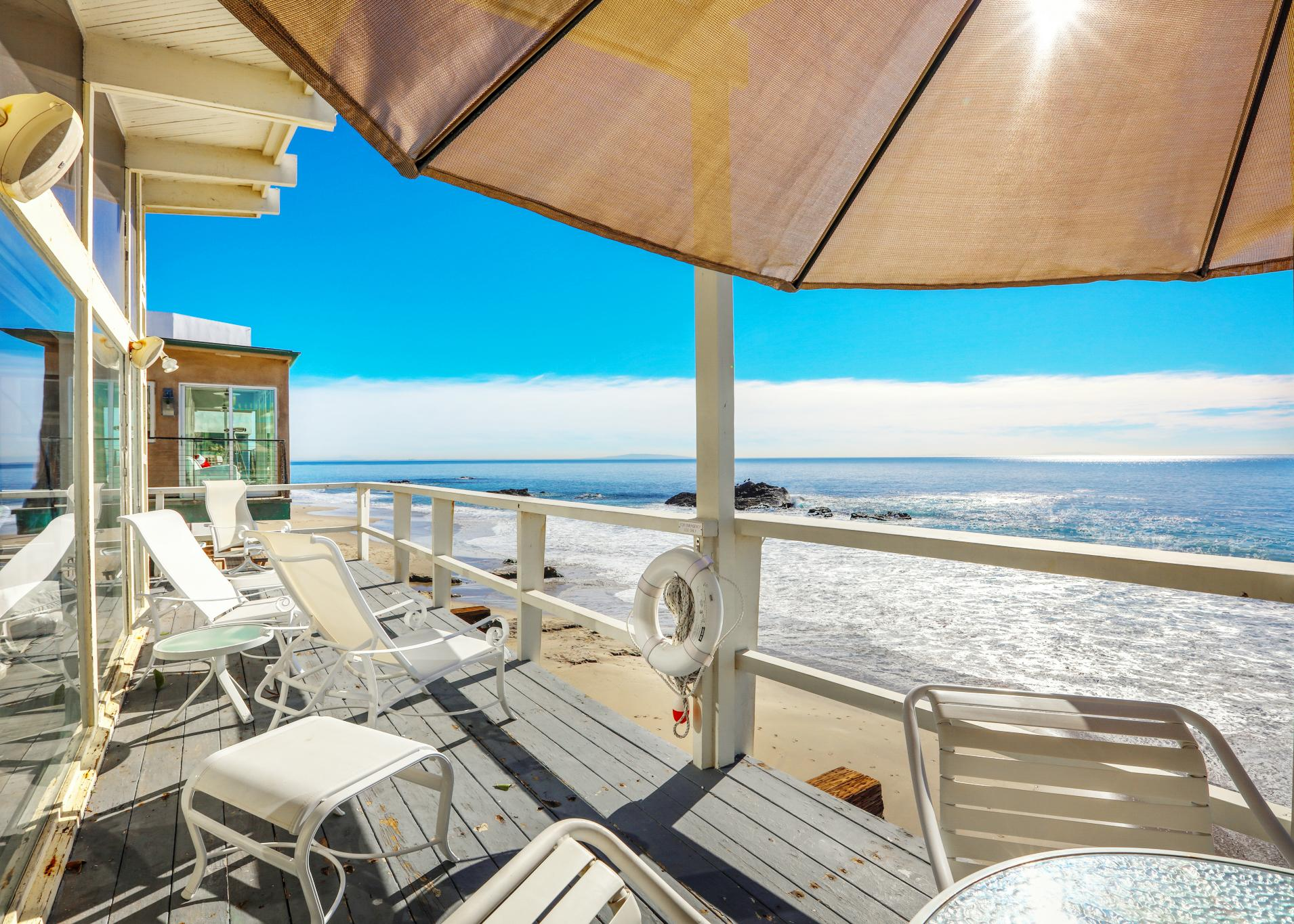 Property Image 1 - 2BR, 2BA Beachfront Home w/ Panoramic Ocean Views