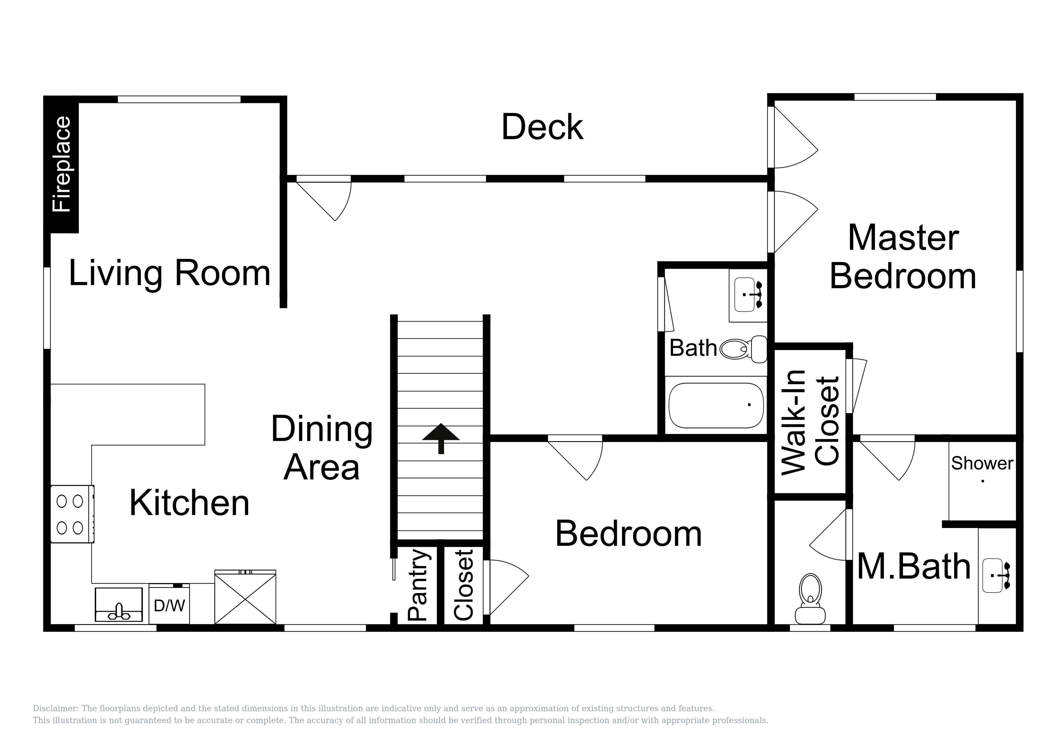 Carriage House - This floor plan is an approximation and may not include the most recent information.
