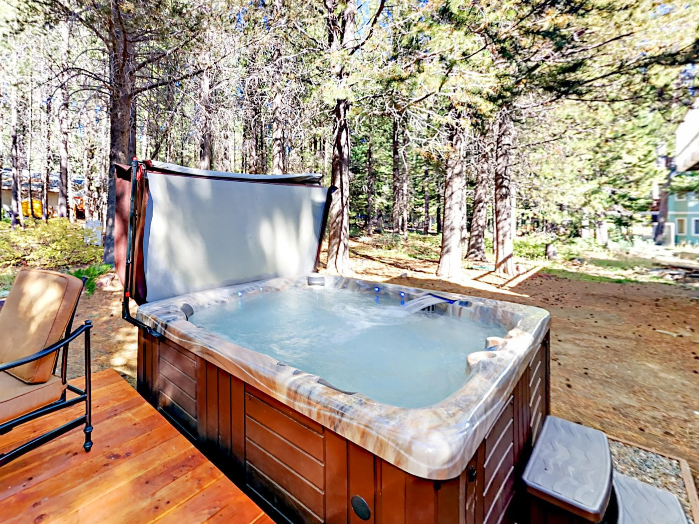 Property Image 2 - Serene Wooded Newly Updated Home with Hot Tub