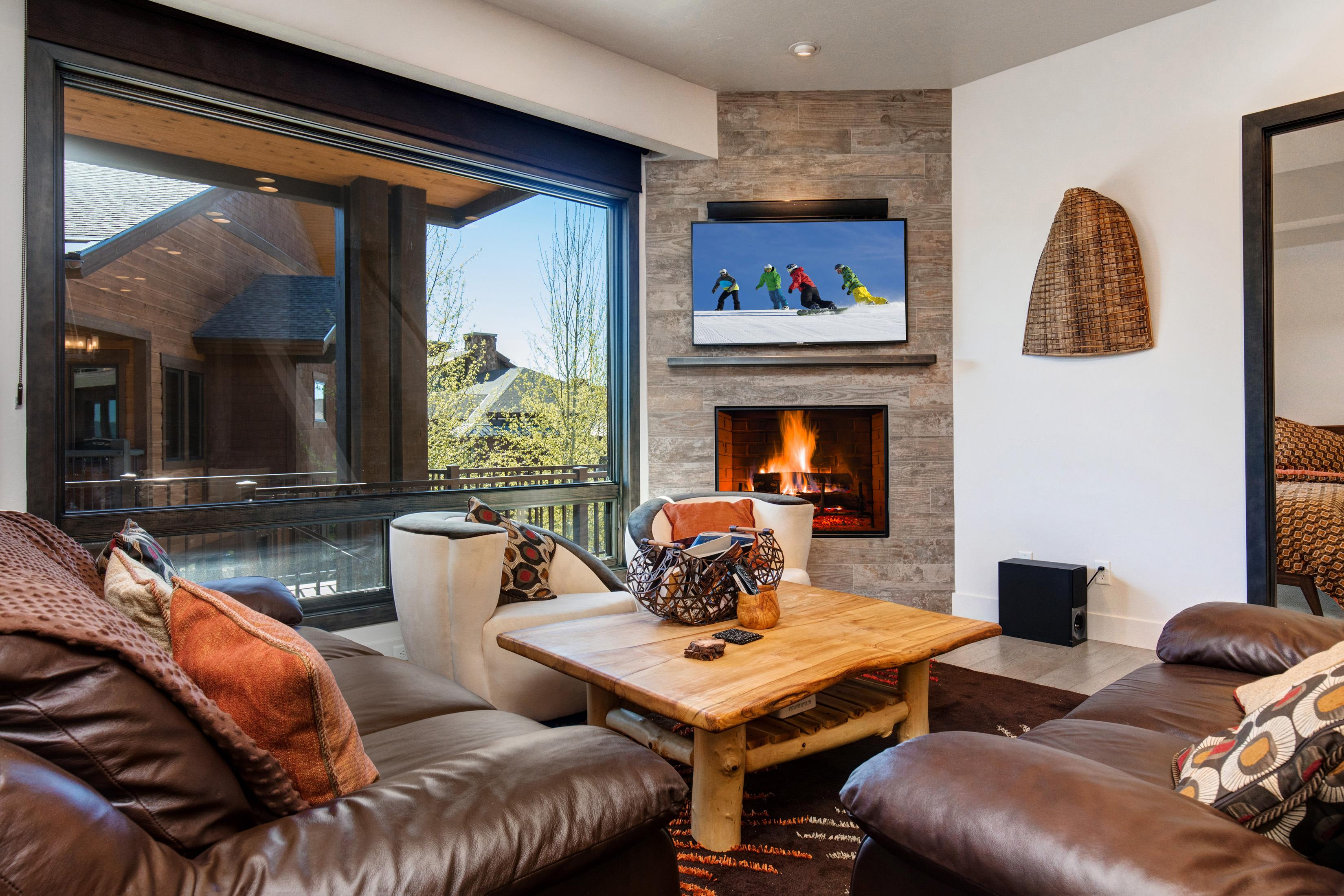Property Image 2 -  Mountainside Condo with an Upscale Ski Lodge Experience