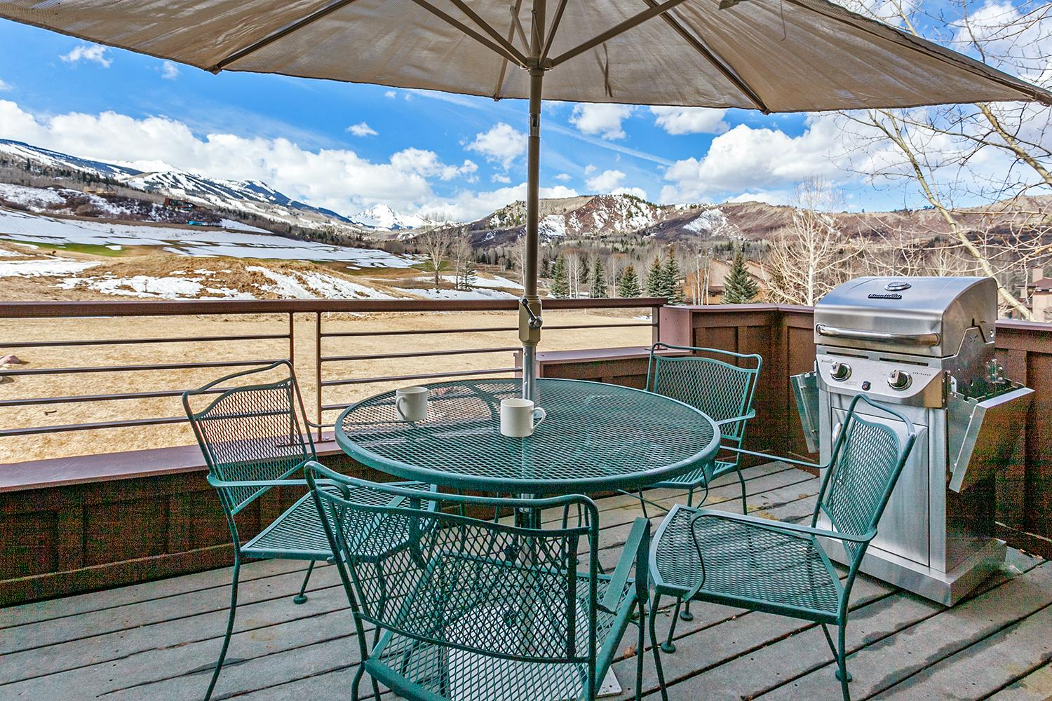 Mountain Condo with Ski Area Views