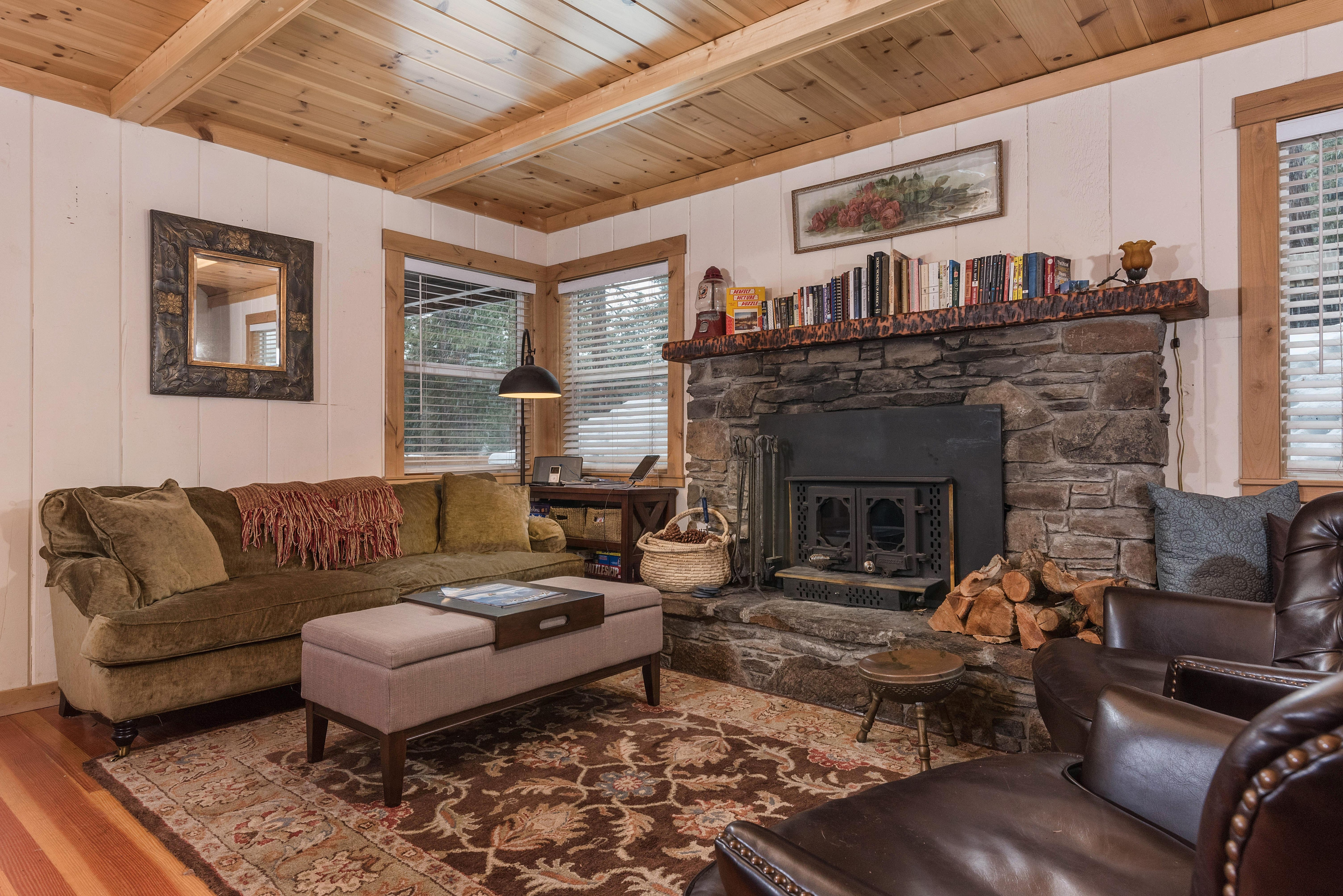 Welcome to Carnelian Bay! This cabin is professionally managed by TurnKey Vacation Rentals. (Please note the fireplace is not operational.)