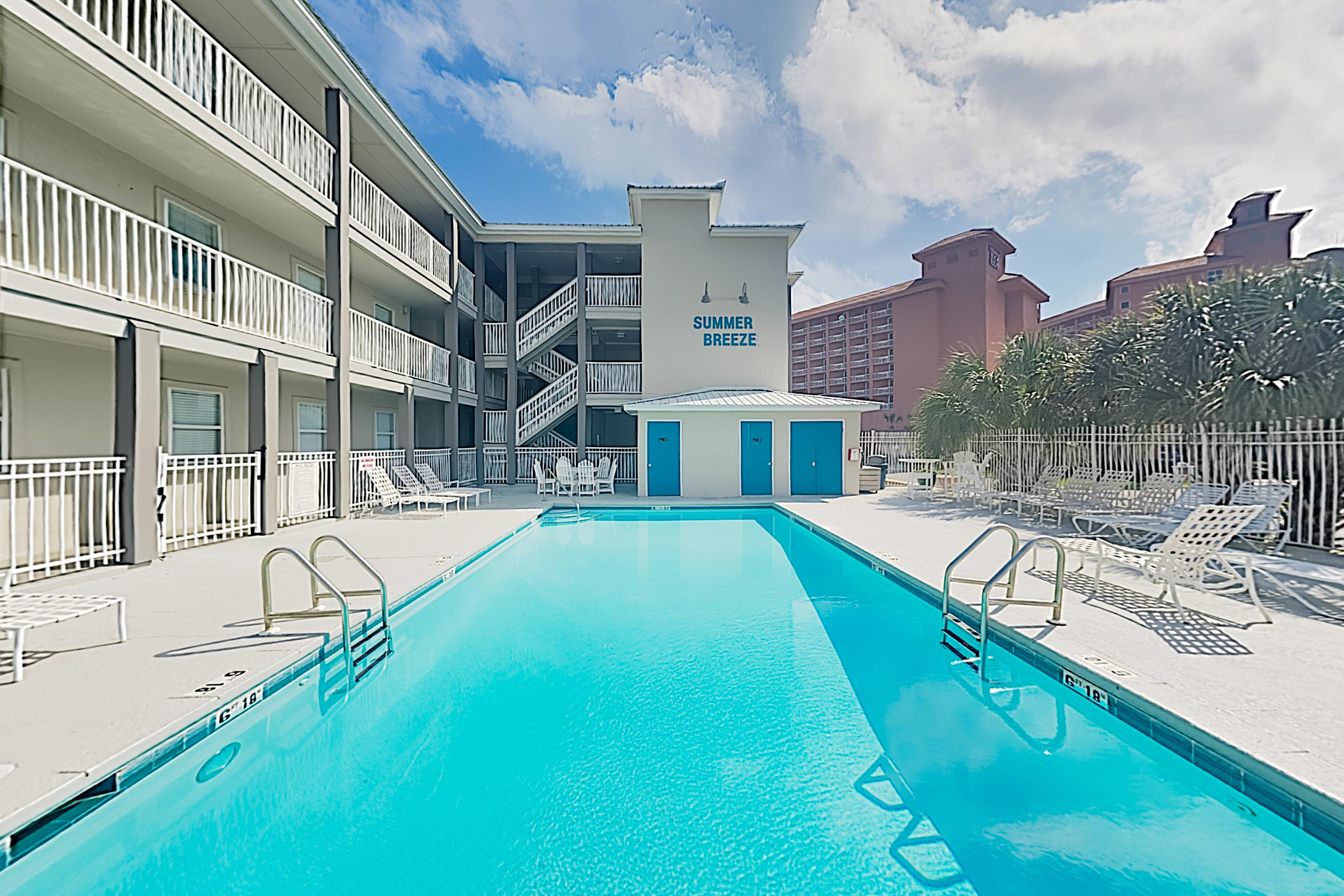 Property Image 2 - Pretty Gulf View Condo with Balcony & Pool Access; Steps to Sand