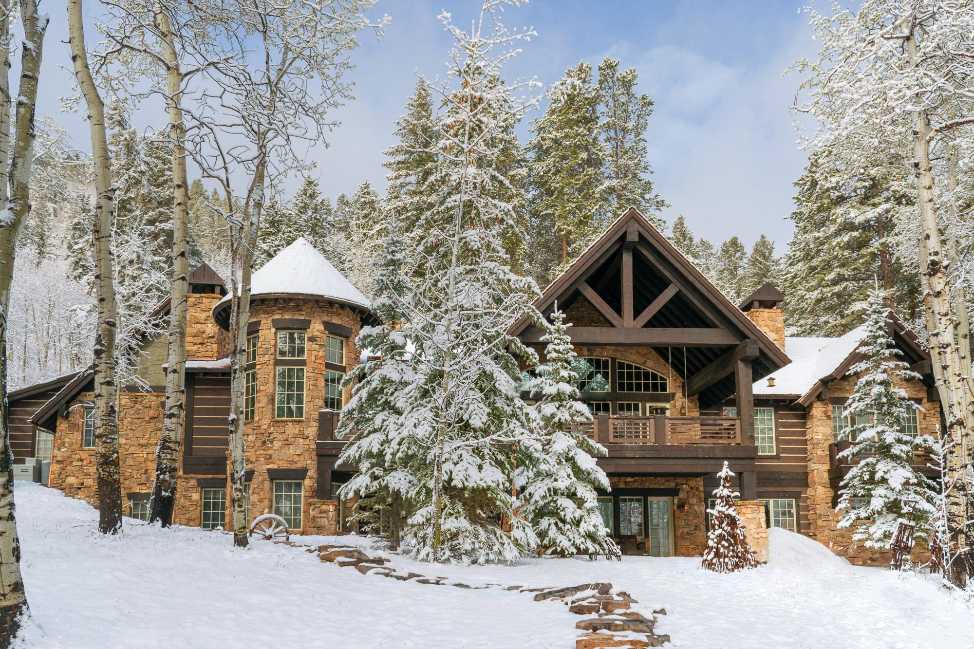 Welcome to your home in Edwards, CO! This luxury mountain retreat makes the ultimate winter vacation home.