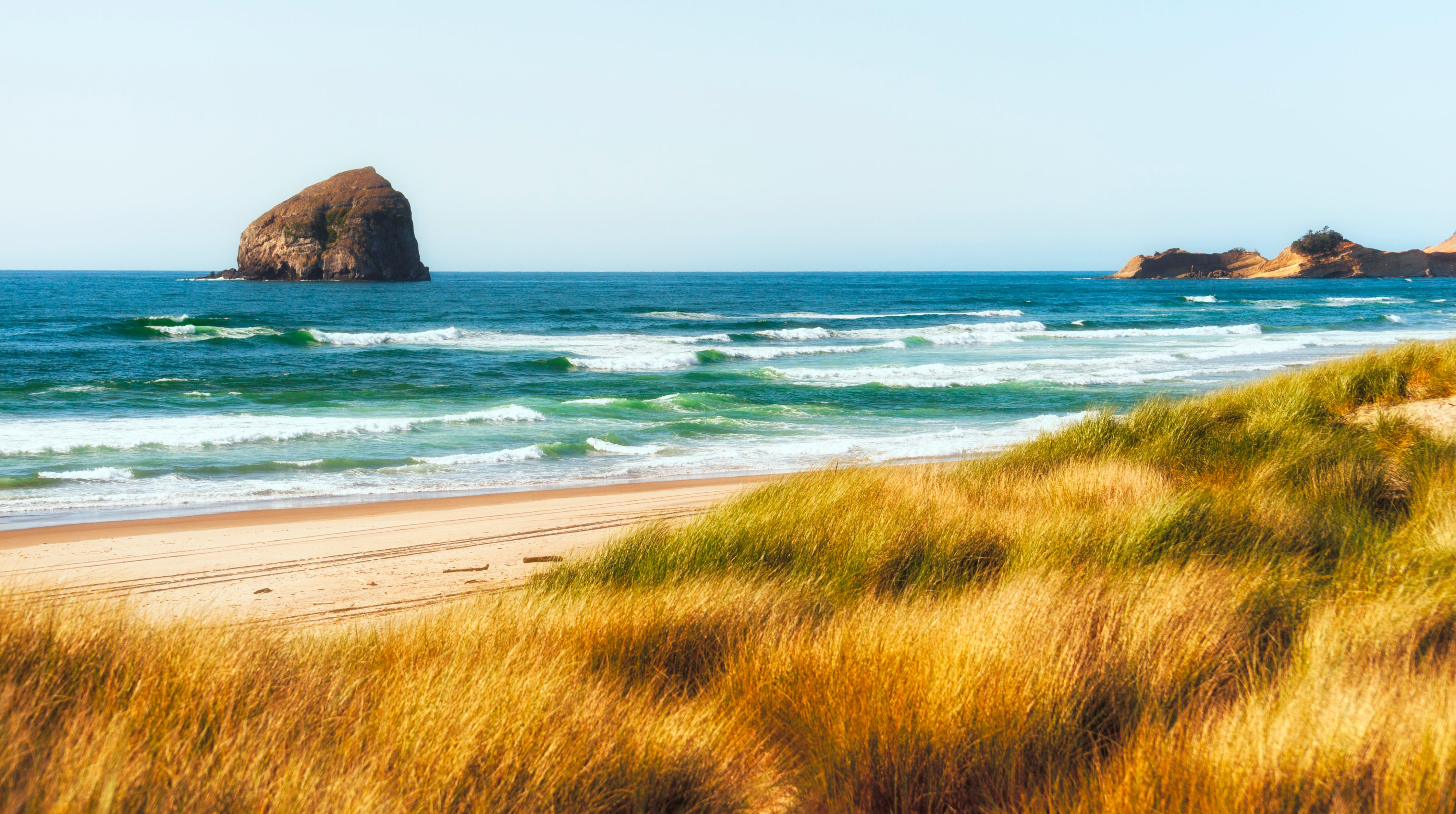 Cape Kiwanda State Park's trails, fishing spots, and beaches are right in your backyard.
