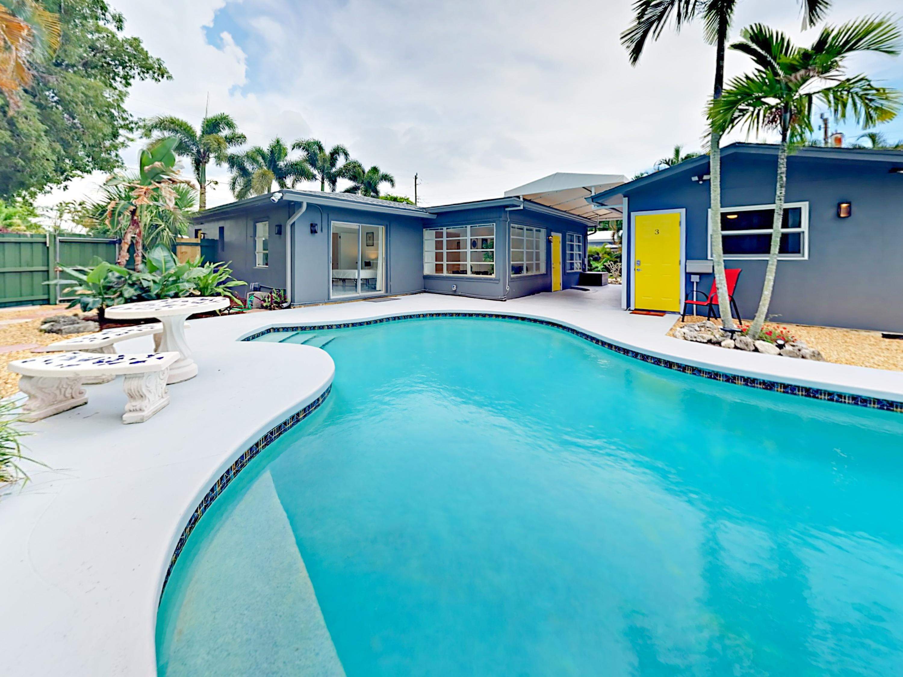 Welcome to Wilton Manors! Your rental is professionally managed by TurnKey Vacation Rentals.
