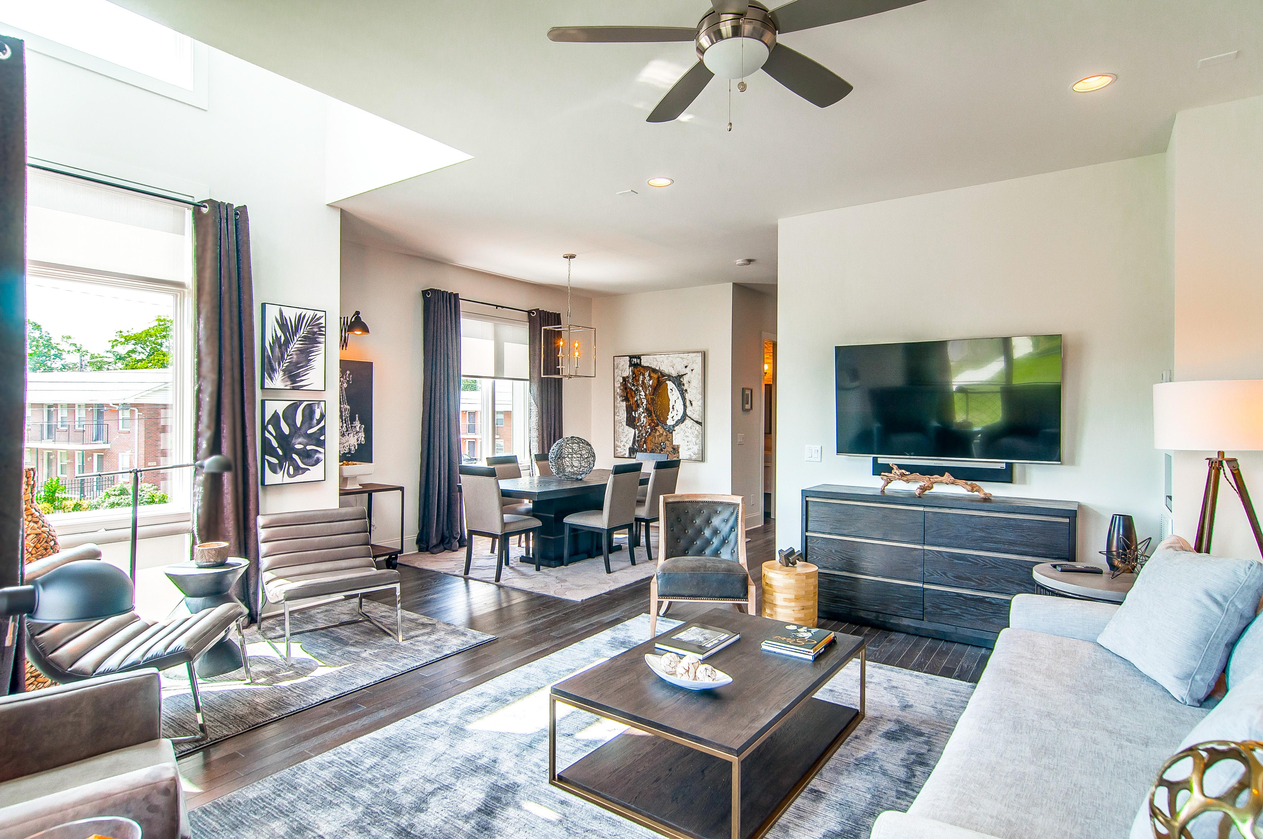 Property Image 1 - Nashville Townhome with Stylish Decor and Roof-Deck