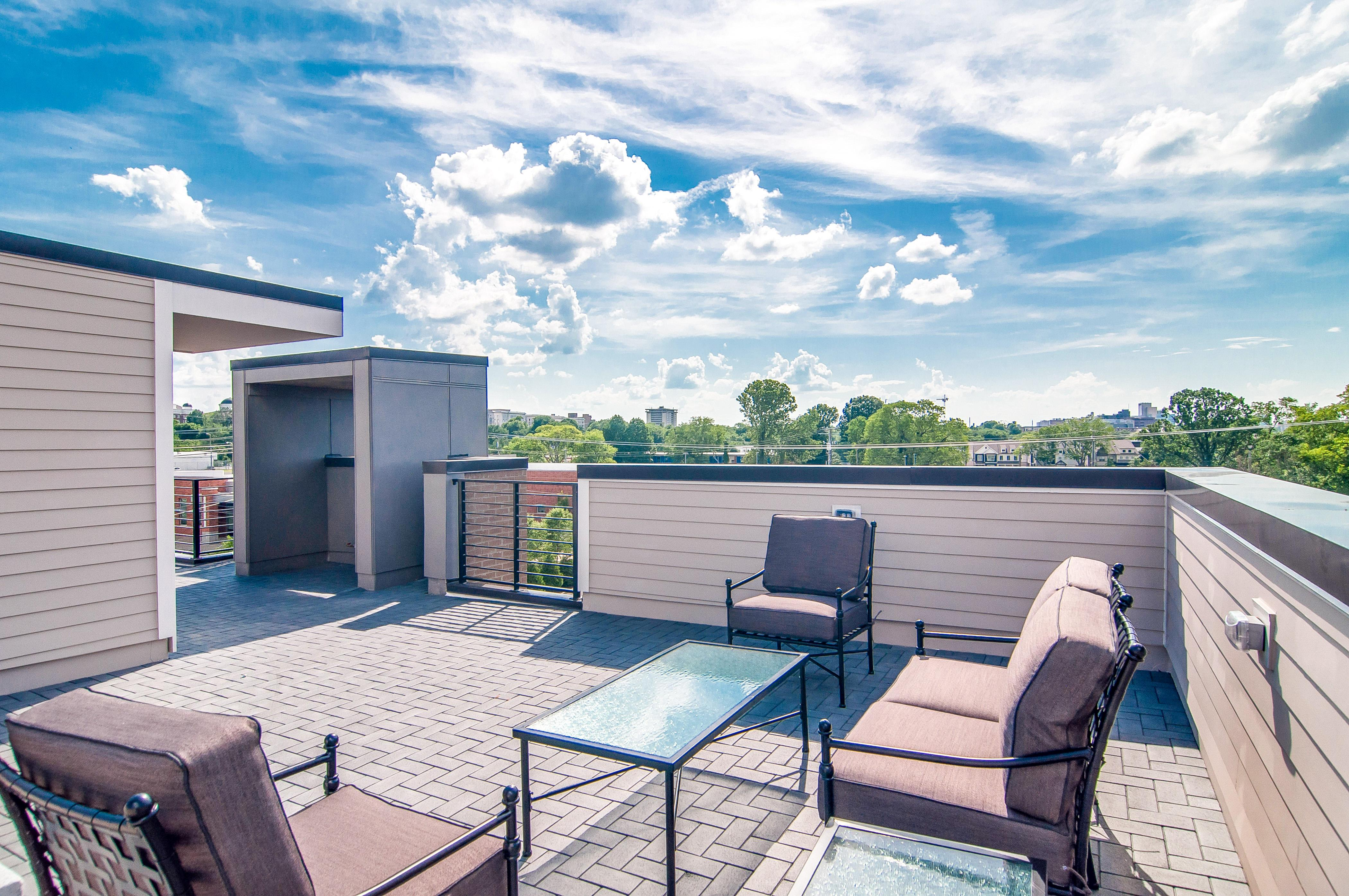 Property Image 2 - Nashville Townhome with Stylish Decor and Roof-Deck