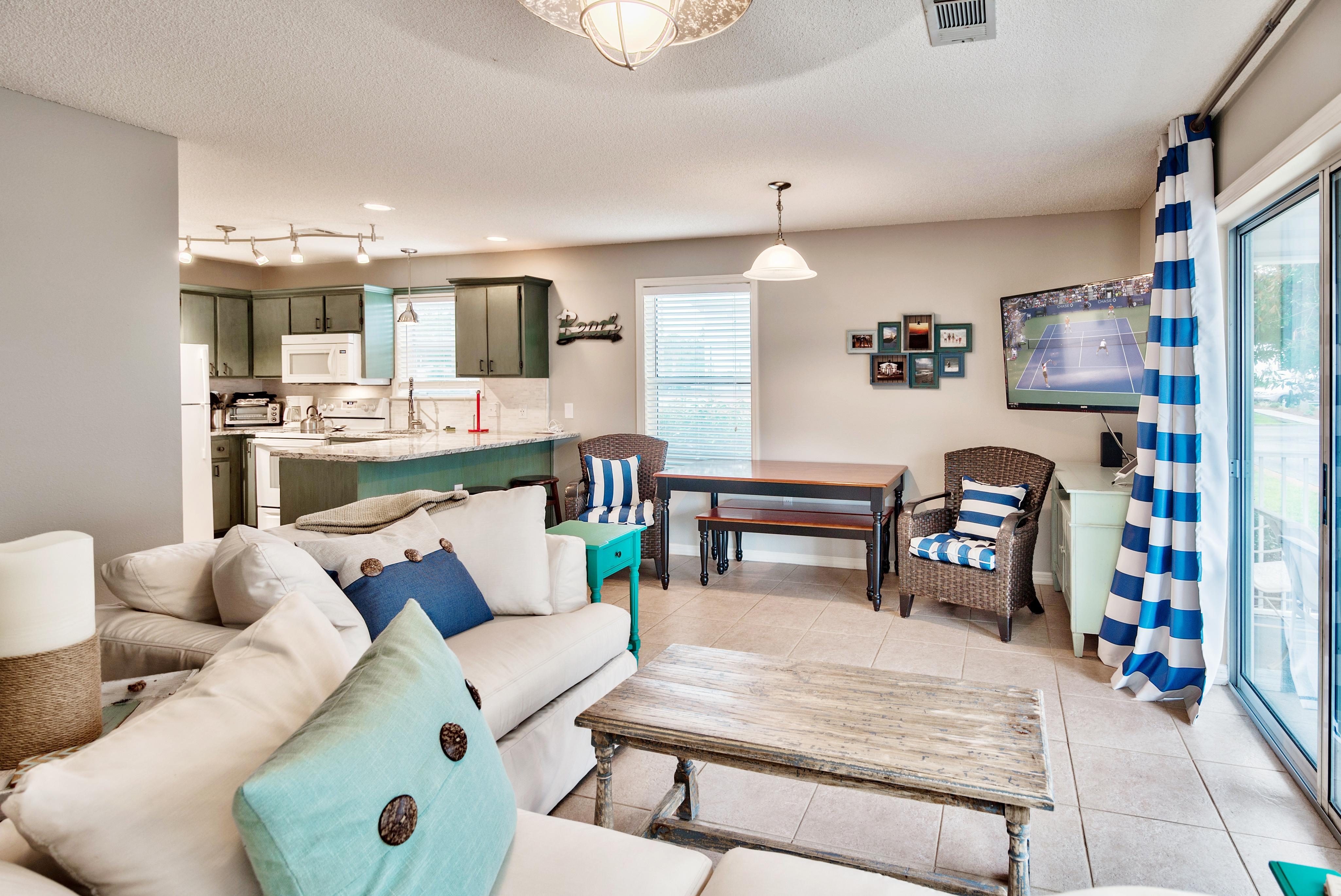 Welcome to Santa Rosa Beach! This condo is professionally managed by TurnKey Vacation Rentals.