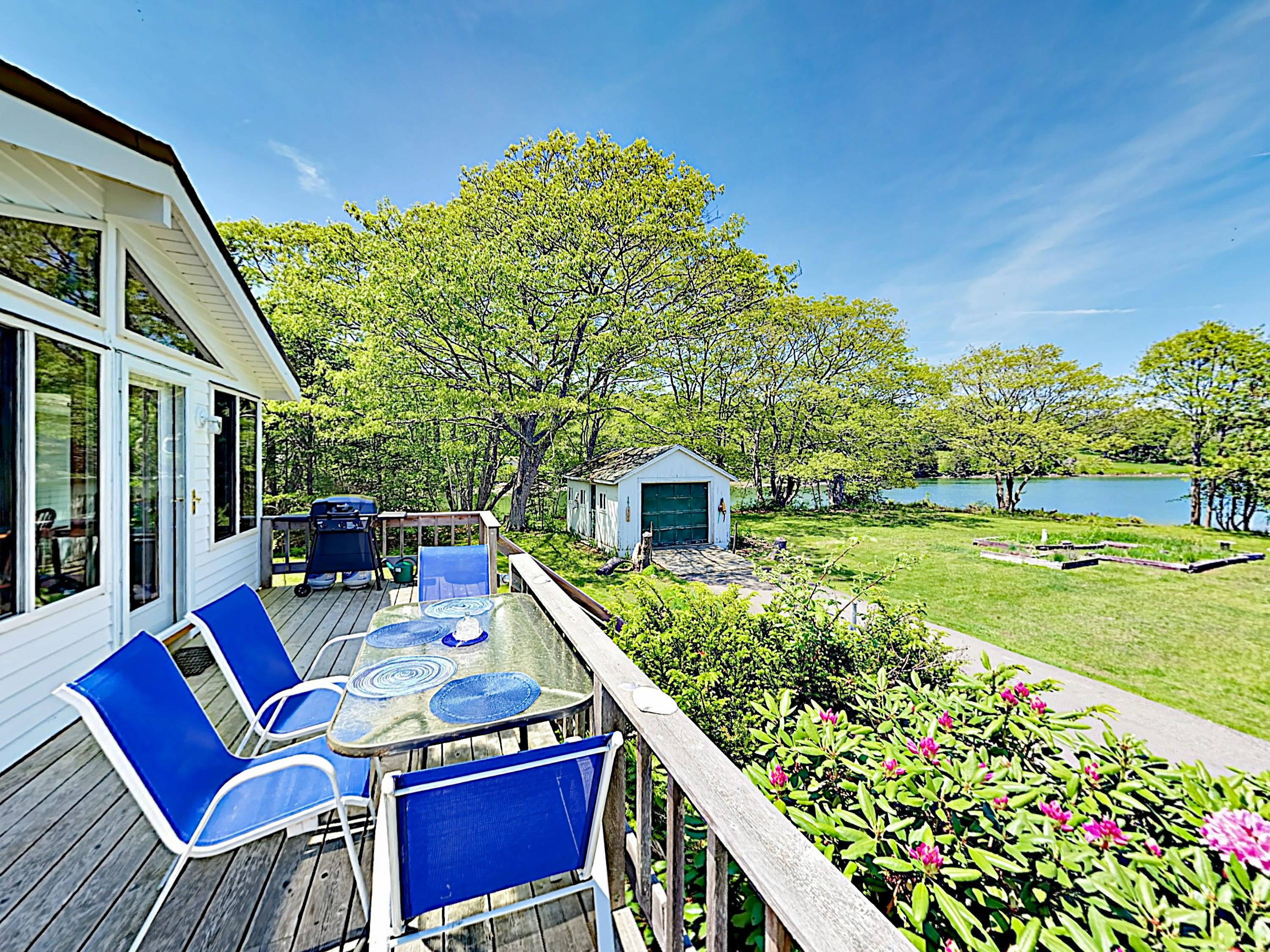 Welcome to East Boothbay! This home is professionally managed by TurnKey Vacation Rentals.