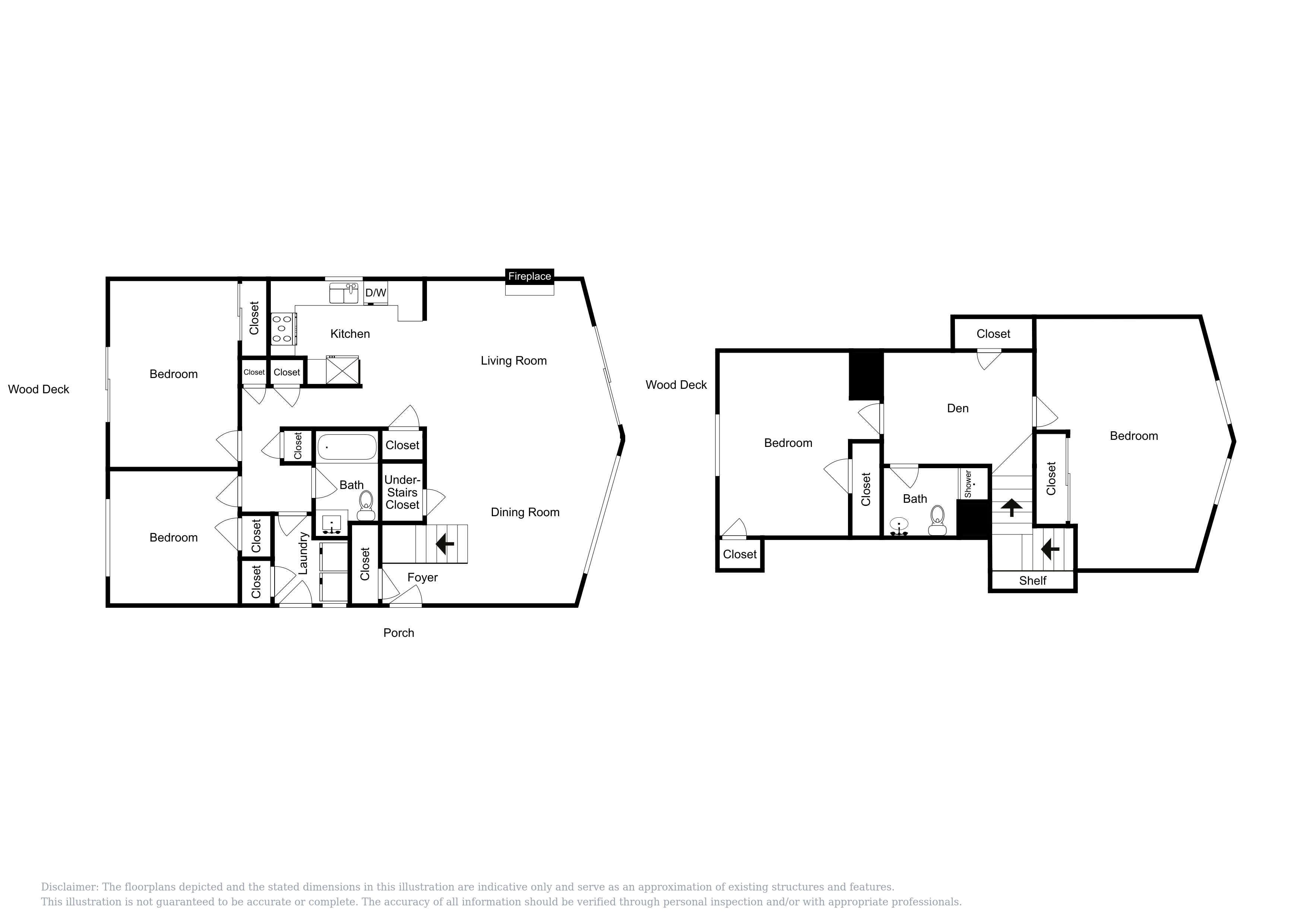 This floor plan is an approximation and may not include the most recent information.