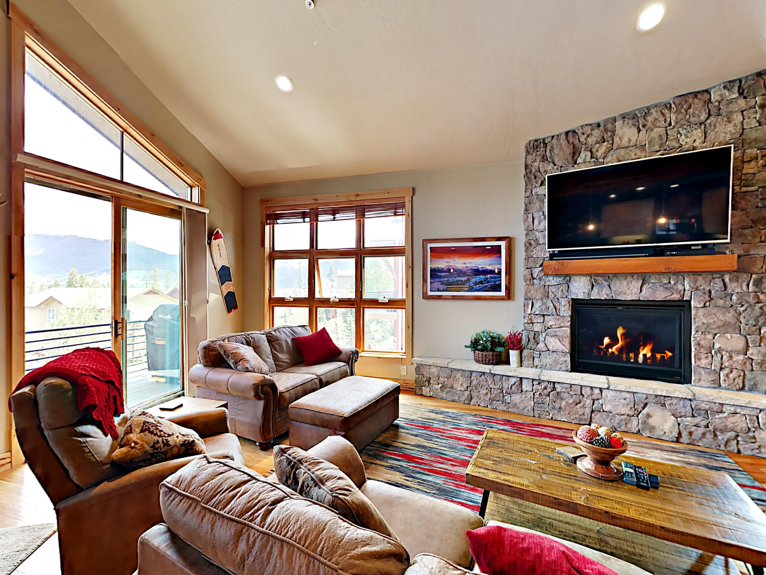 Welcome to Silverthorne! This townhouse is professionally managed by TurnKey Vacation Rentals.