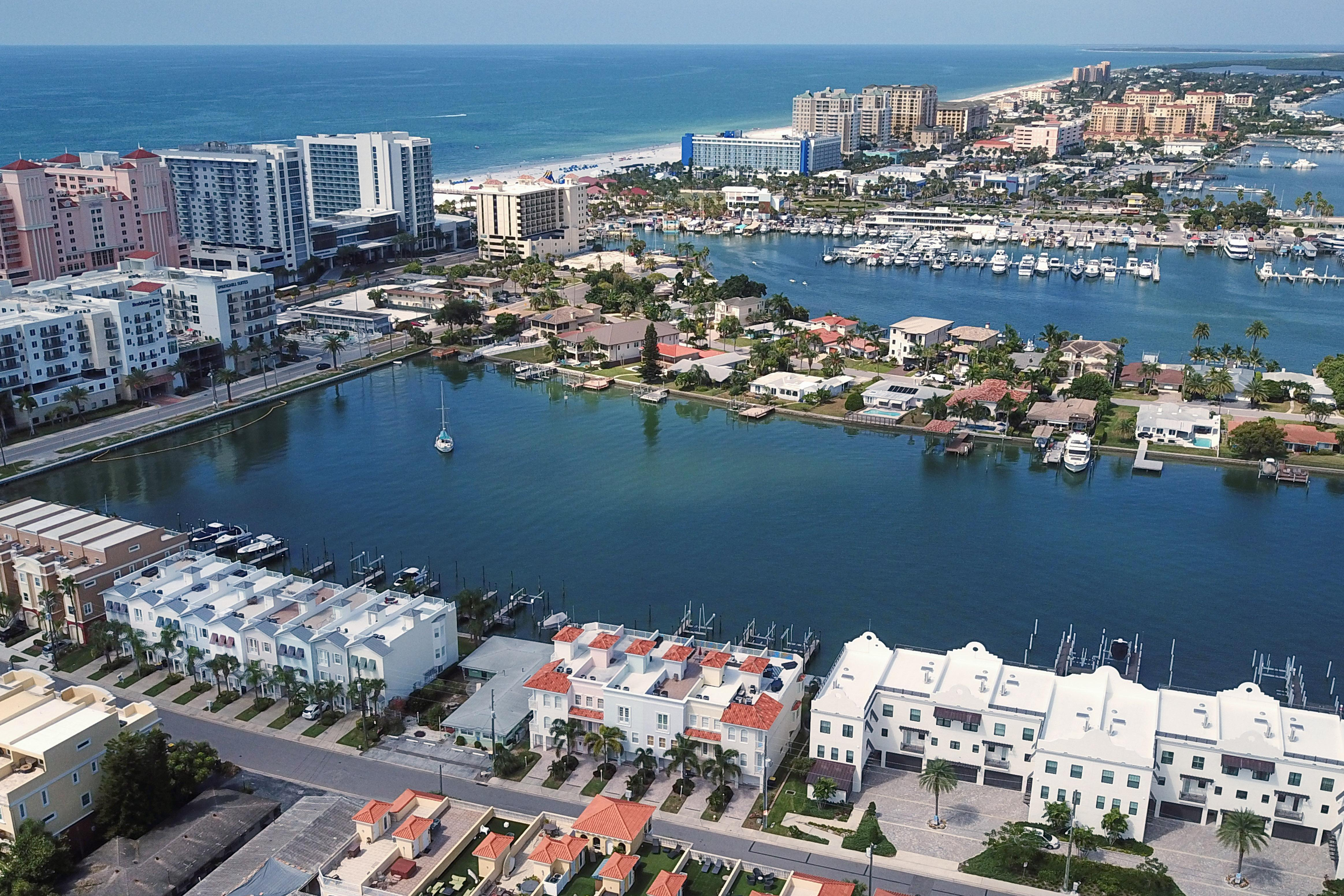 Your rental is conveniently located a half-mile from downtown Clearwater Beach.